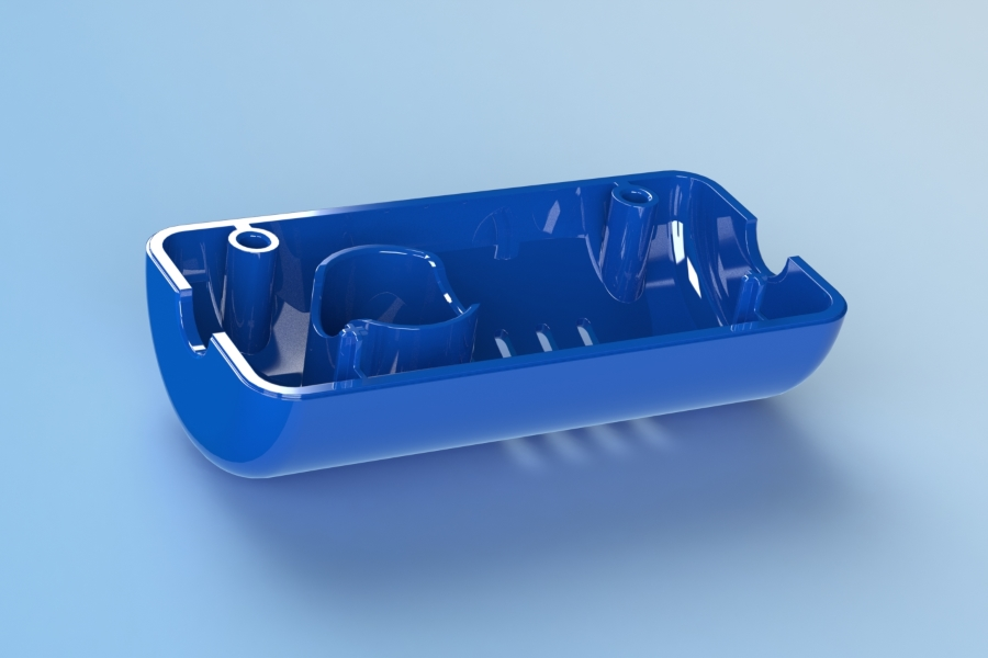 Plastic Housing   Injection Molded, High Gloss Plastic Assembly
