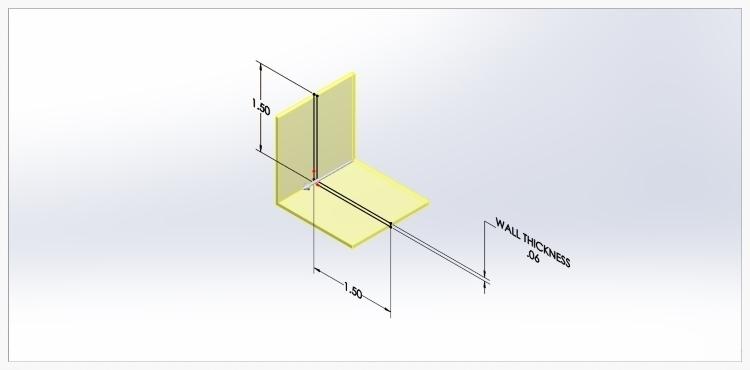 CAD programs convert a 2 dimensional sketch into a 3 dimensional object with a depth dimension.
