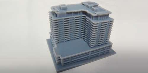 Polyjet 3D Printing - Architectural Model