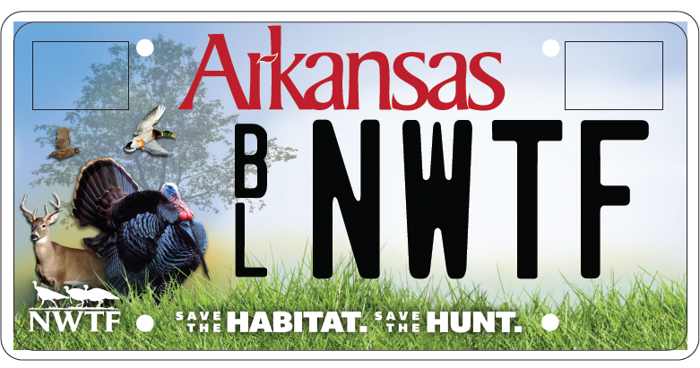 Get your NWTF license plate!   Click for more info.