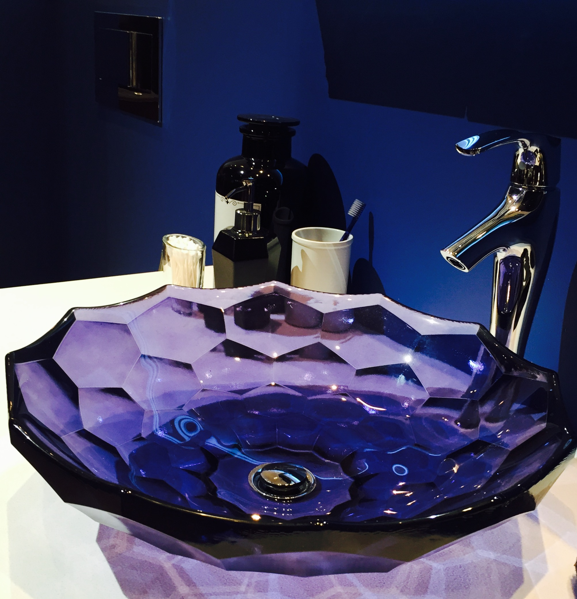 Kohler Glass Vessel in New color - Sapphire.jpg