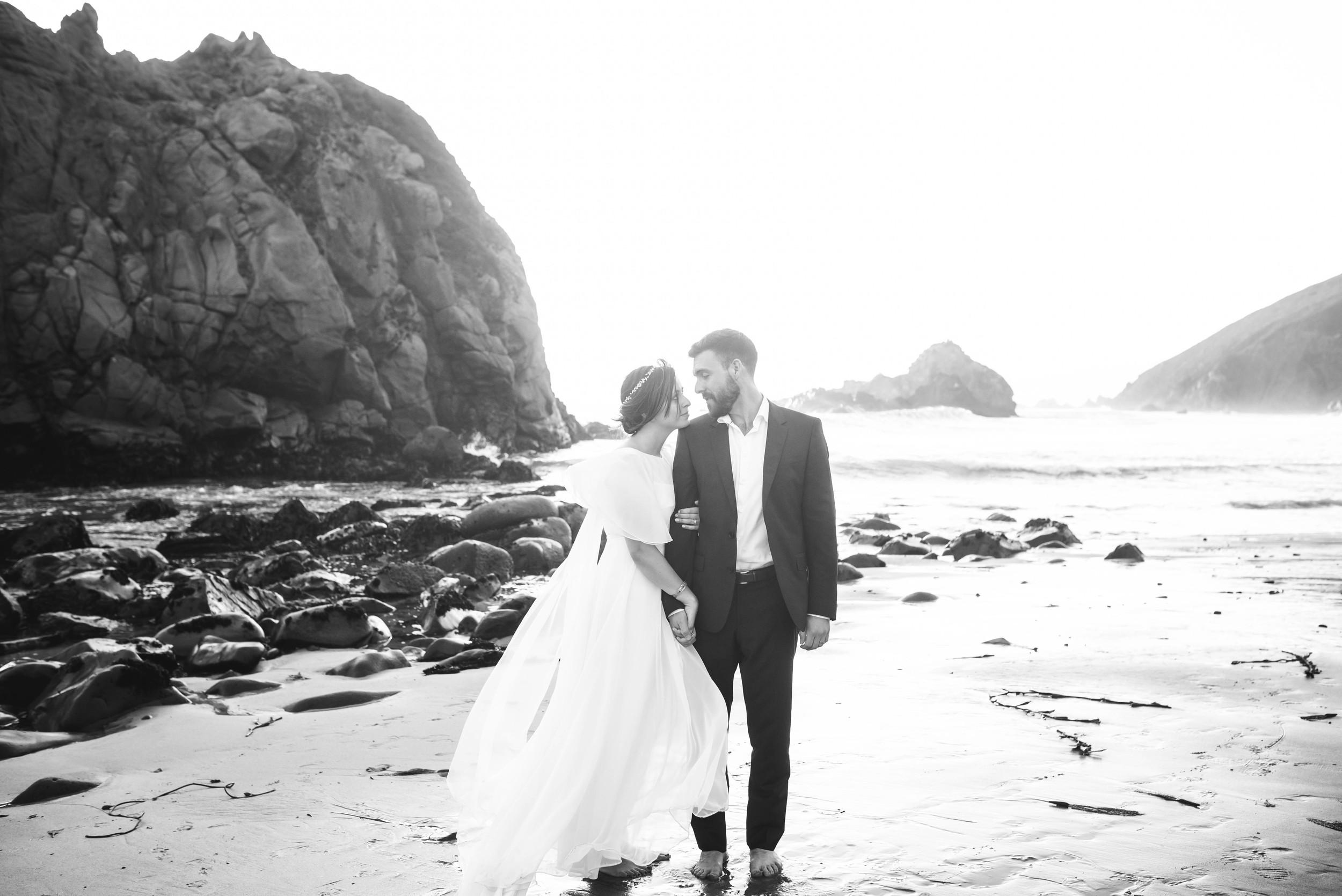 Big Sur Destination Wedding Photographer