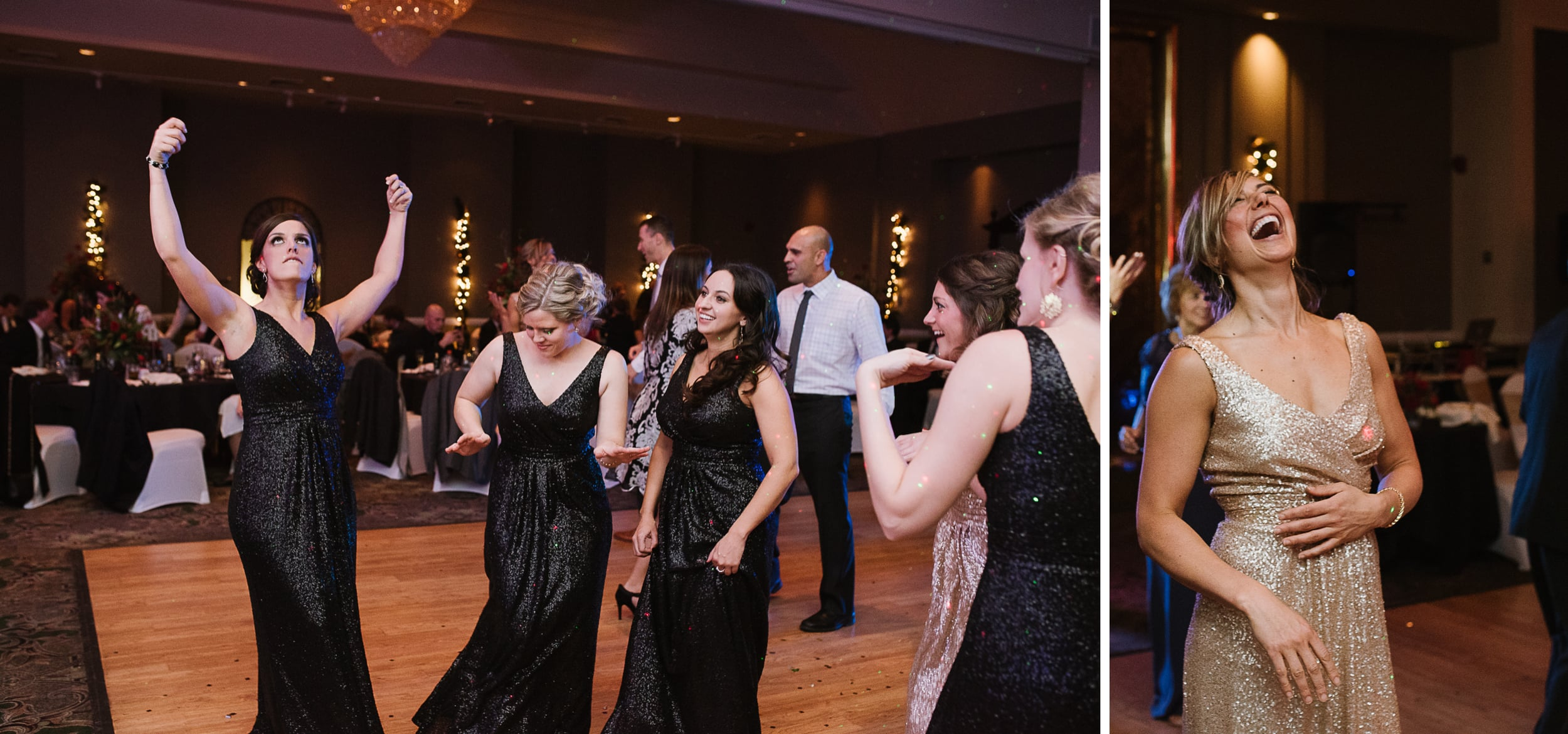 Chestnut Ridge Country Club New Years Eve wedding reception, M. Fisher.jpg