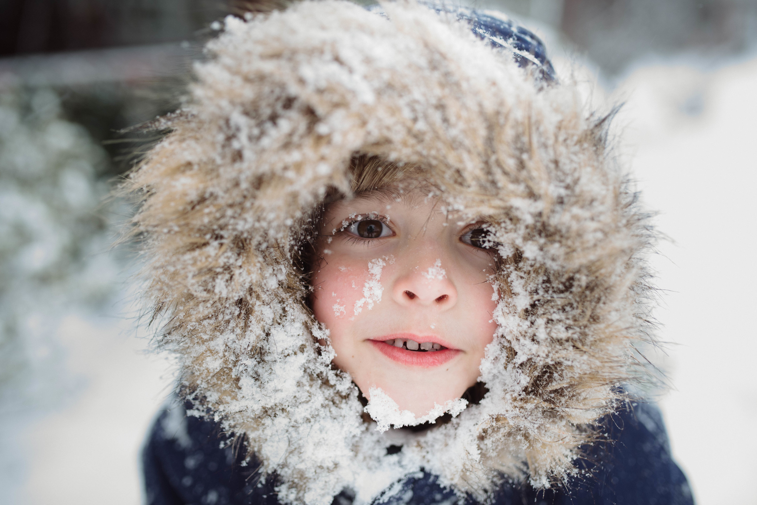 Pittsburgh Family Photographer Snow Portrait Mariah Fisher.jpg