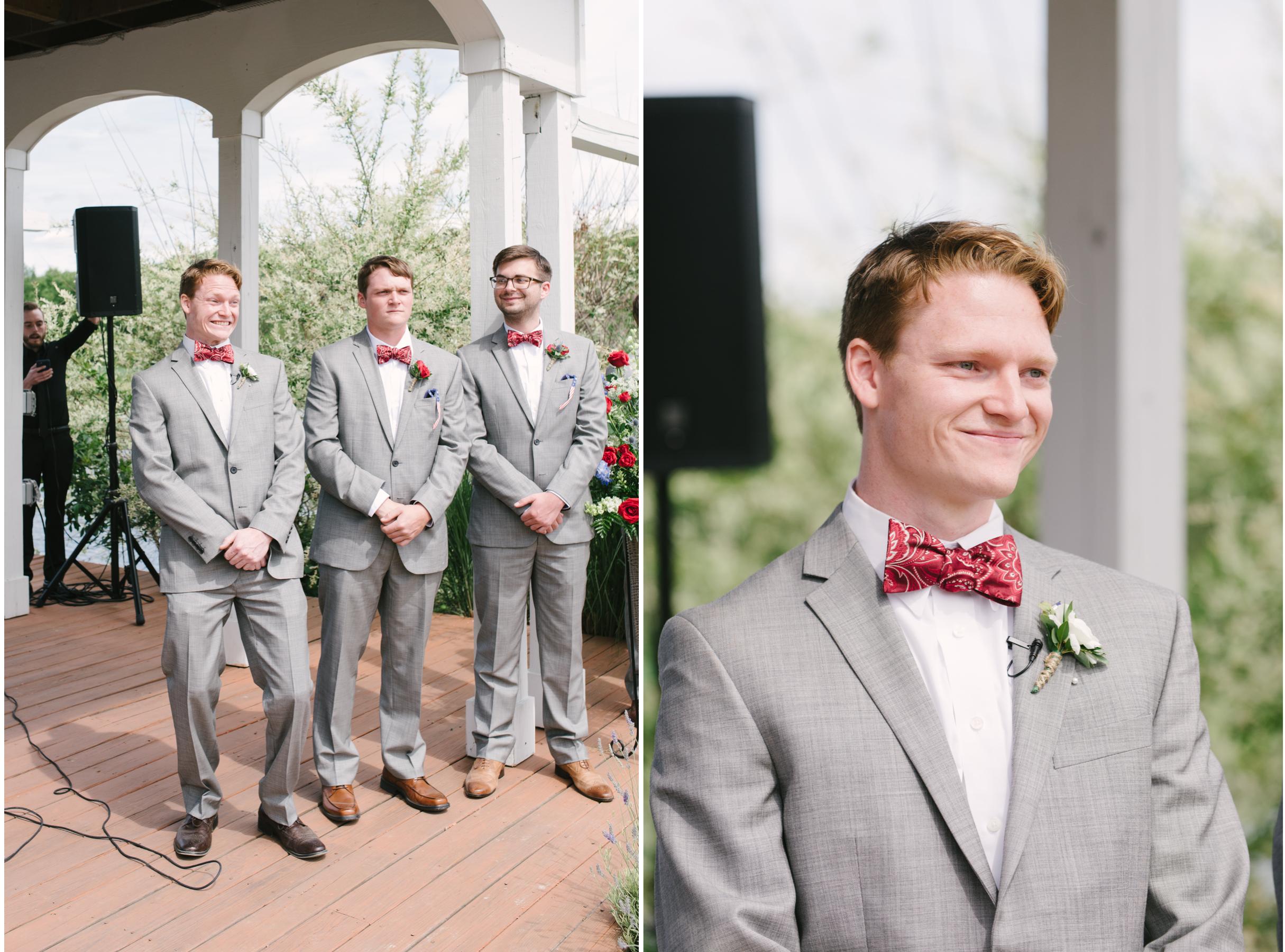 first look lingrow farm wedding mariah fisher.jpg