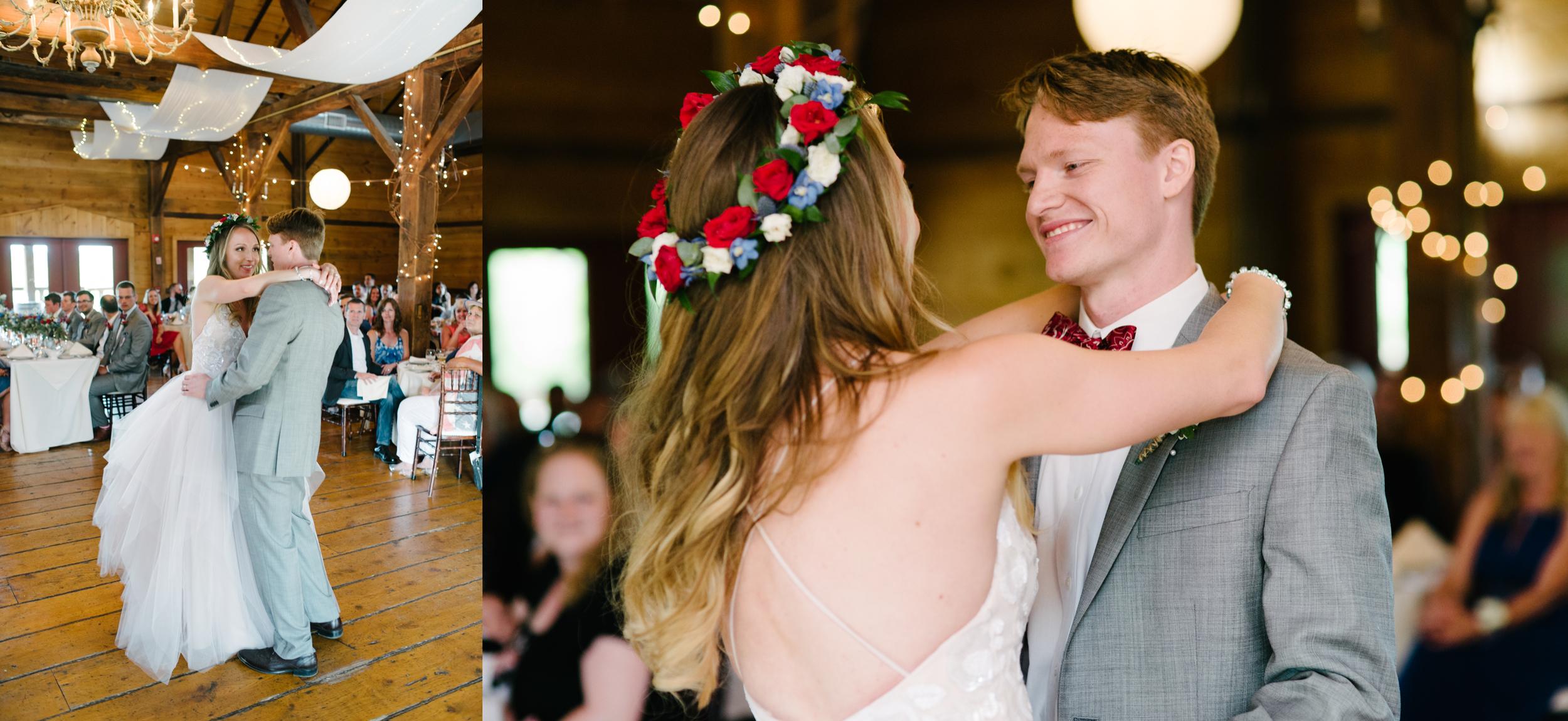 first dance lingrow farm wedding photography.jpg
