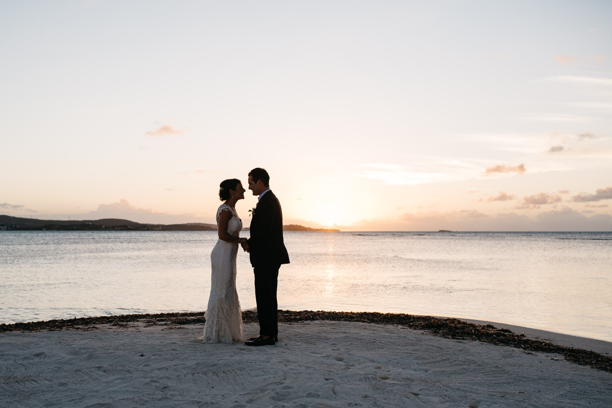 Jumby Bay Antigua Travel Destination Wedding Photograph