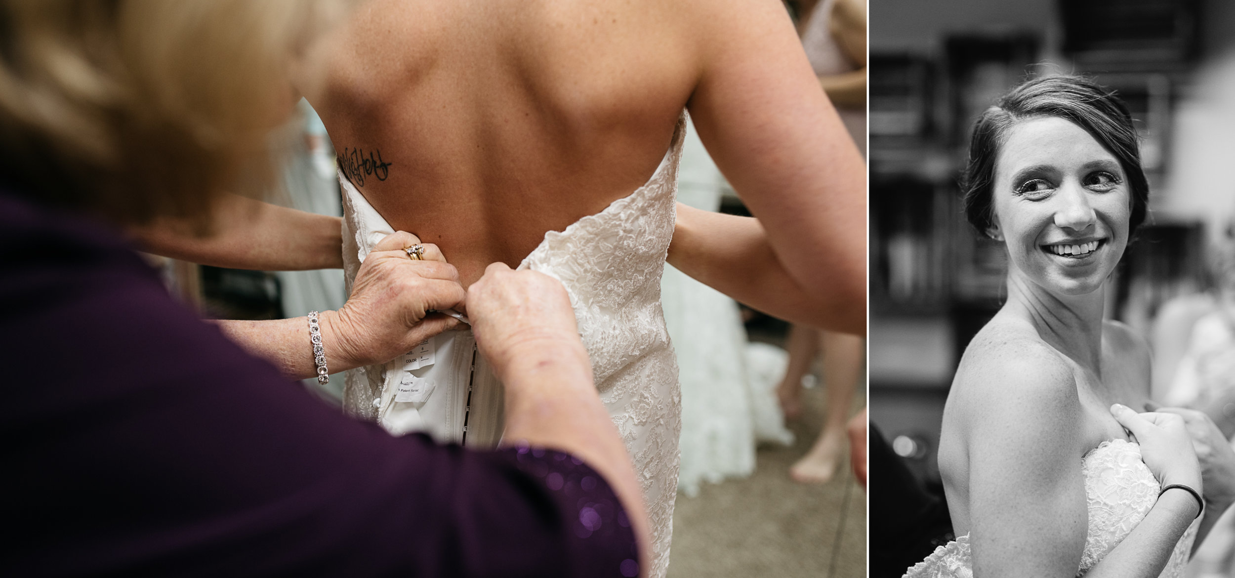 getting ready the Hayloft of PA, Mariah Fisher Photography Pittsburgh wedding photographer.jpg