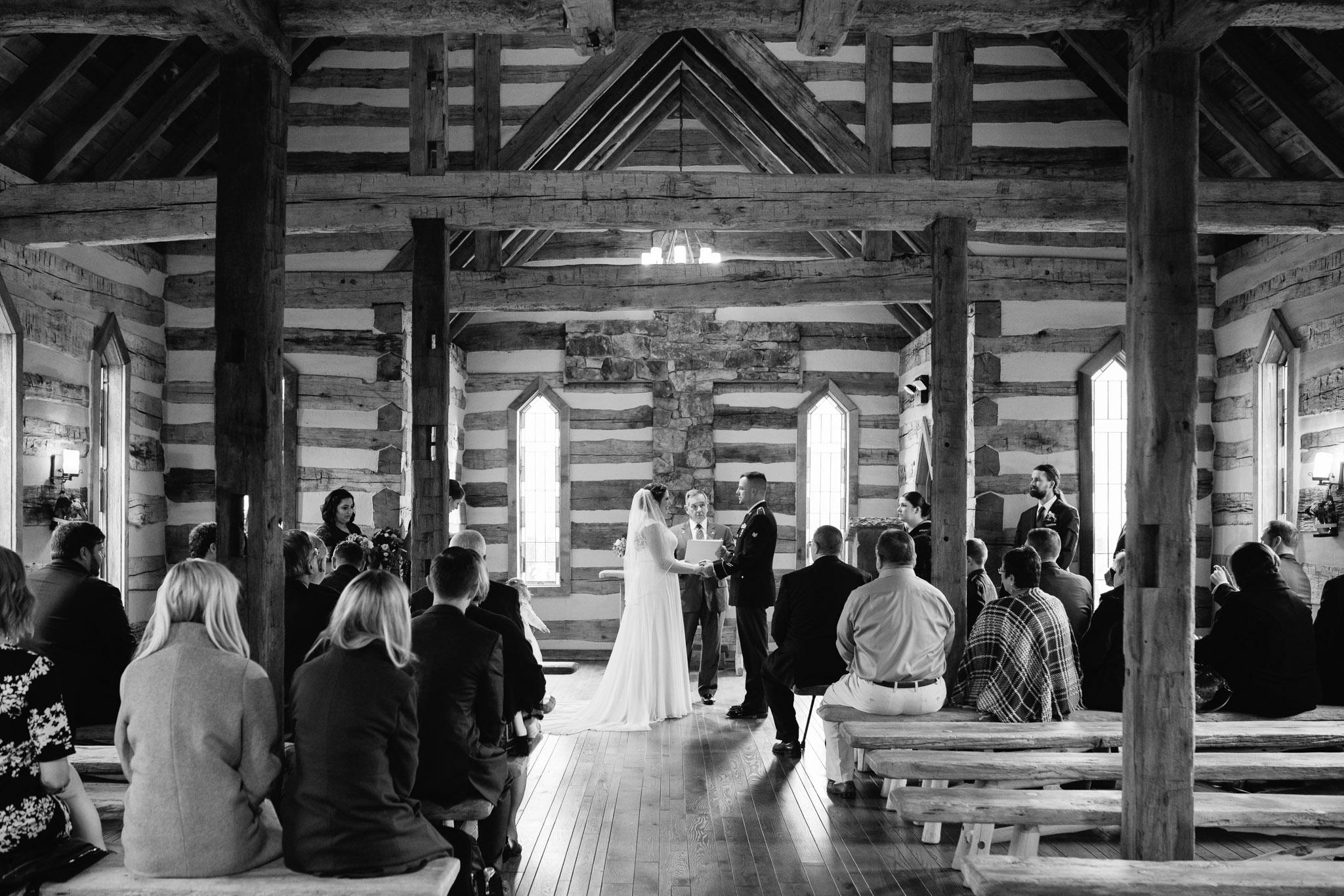 Oak Lodge Wedding Ceremony Stahlstown PA