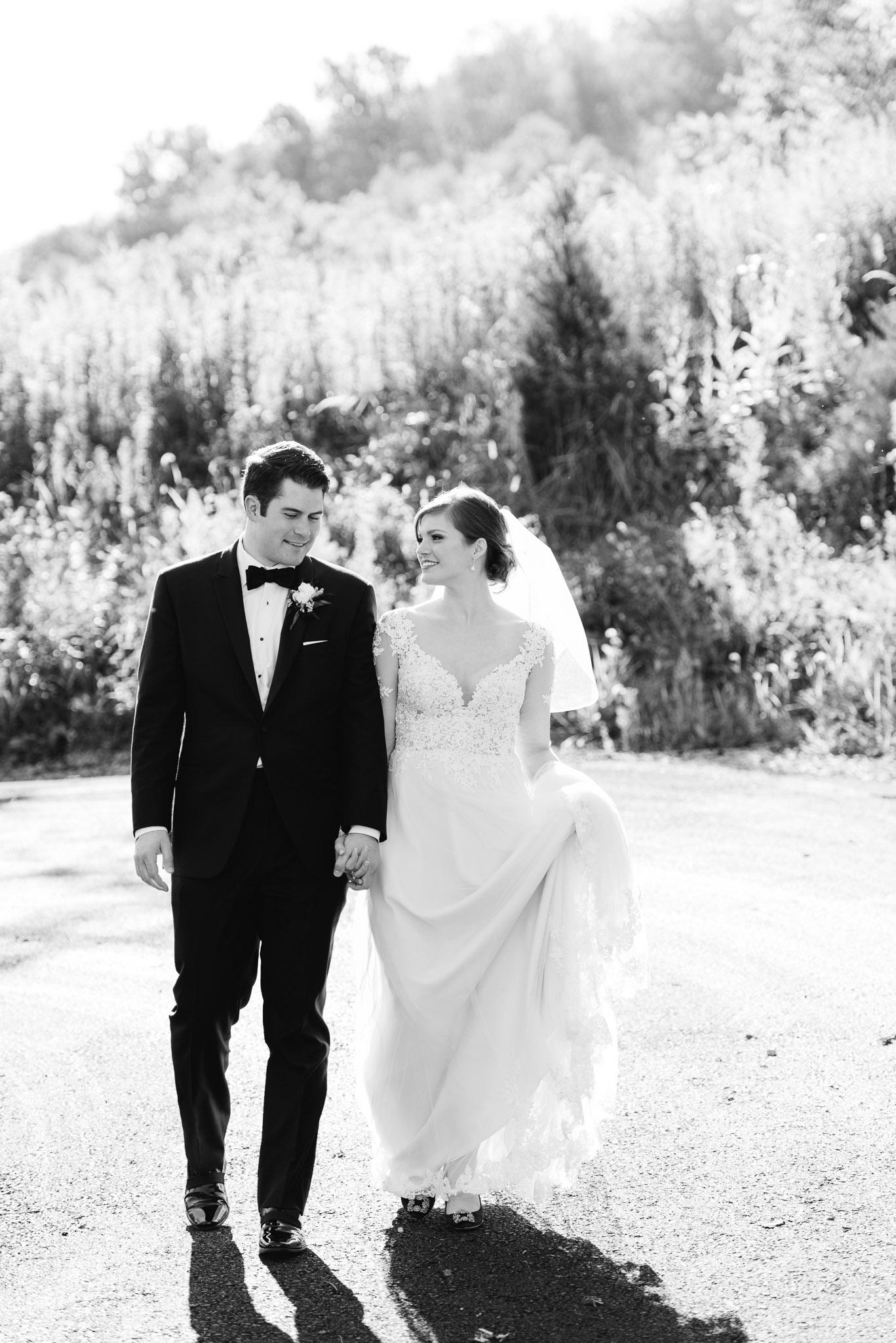 Bride and Groom Wedding Portrait Ligonier PA