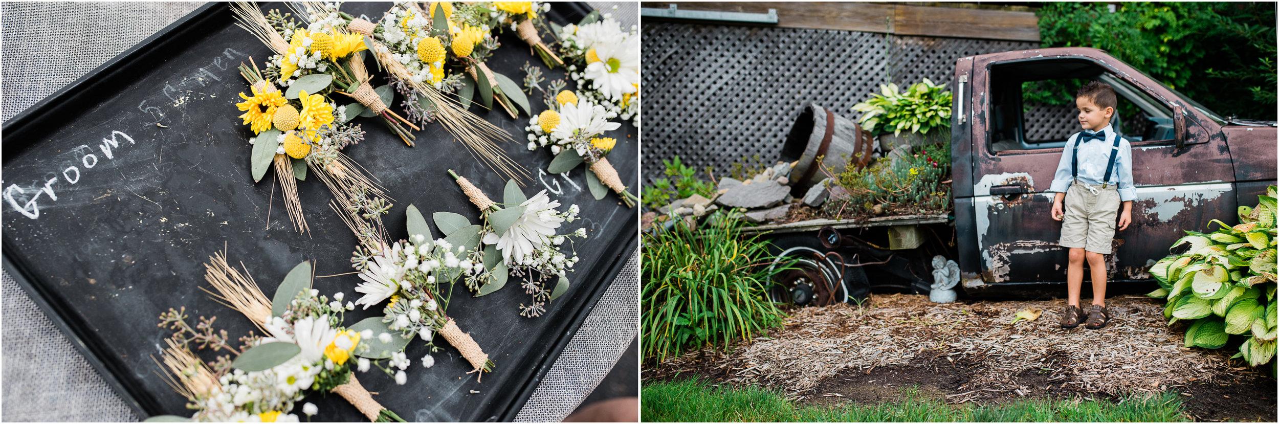 groom flowers, the Hayloft of PA wedding photographer.jpg