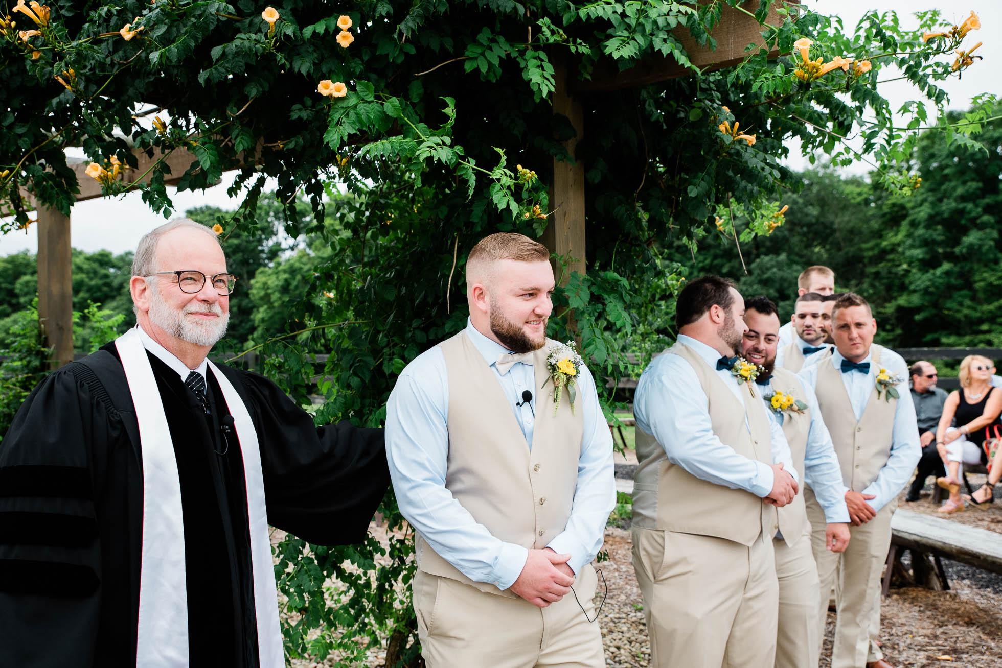 The Hayloft of PA, wedding ceremony Mariah Fisher, Pittsburgh PA wedding photographer-12.jpg