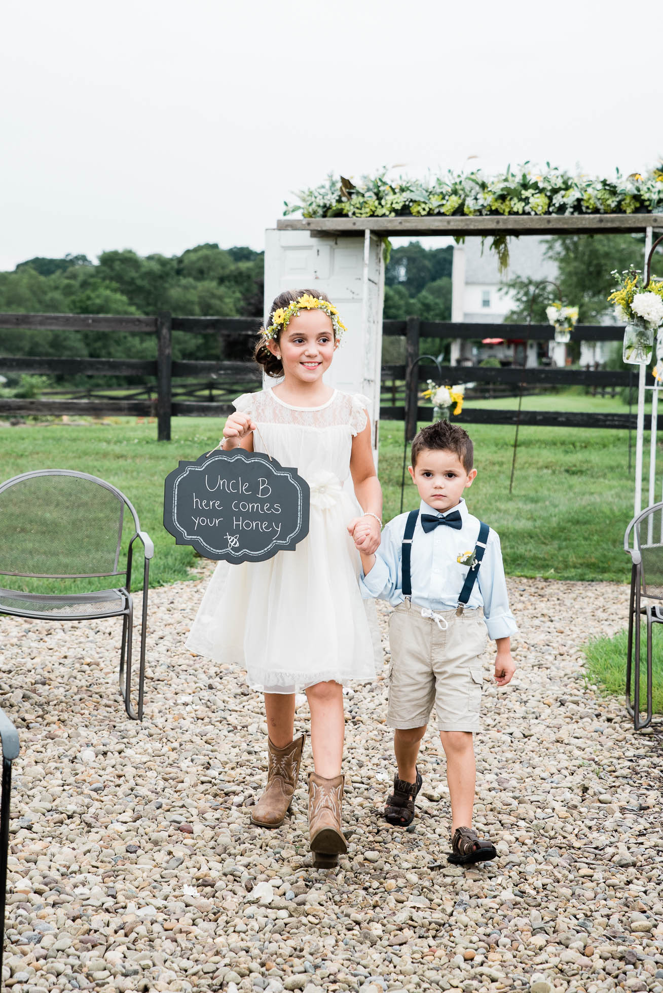 The Hayloft of PA, wedding ceremony Mariah Fisher, Pittsburgh PA wedding photographer-13.jpg