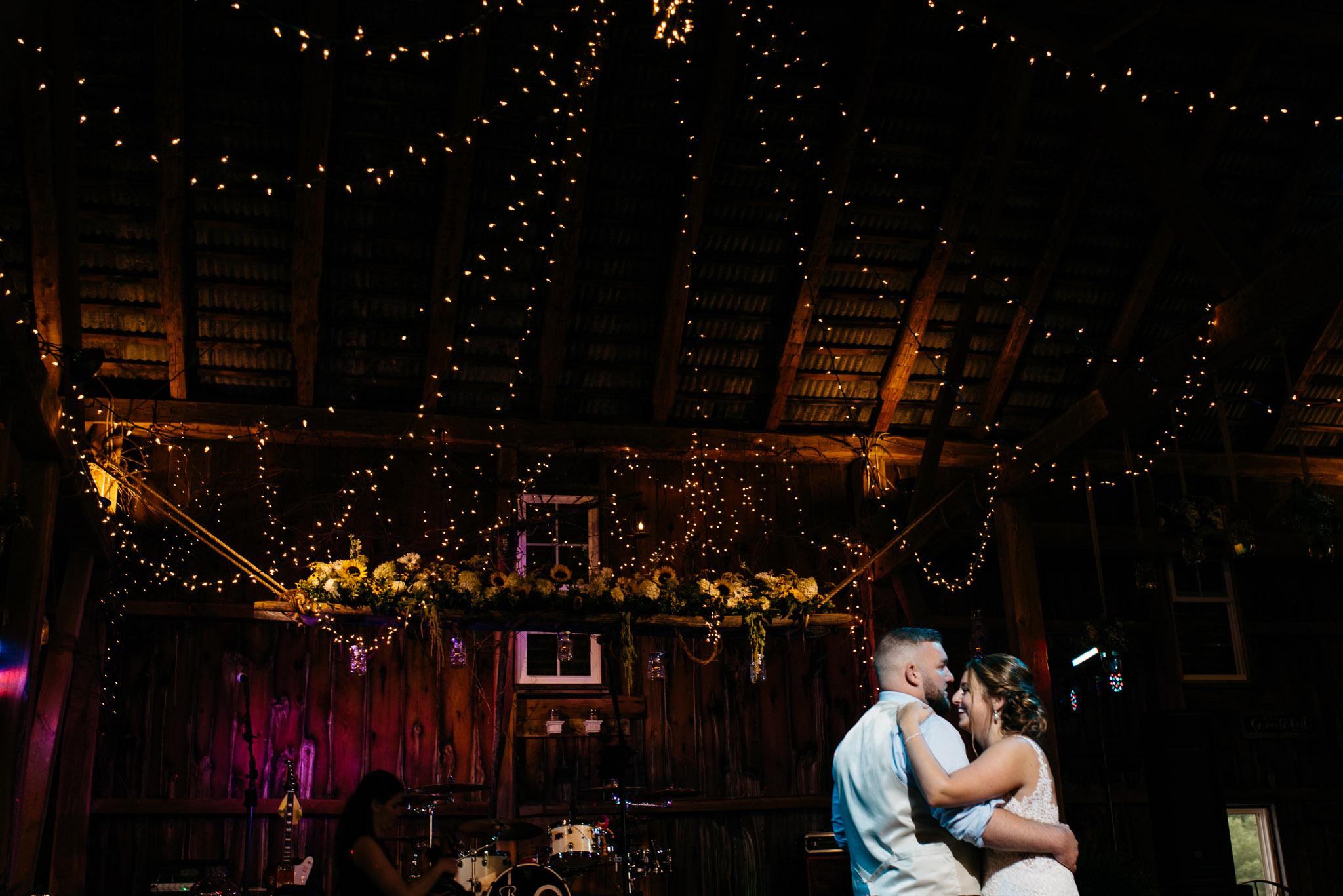 first dance, Pittsburgh Wedding Photographer, Hayloft of PA Mariah Fisher-0903.jpg