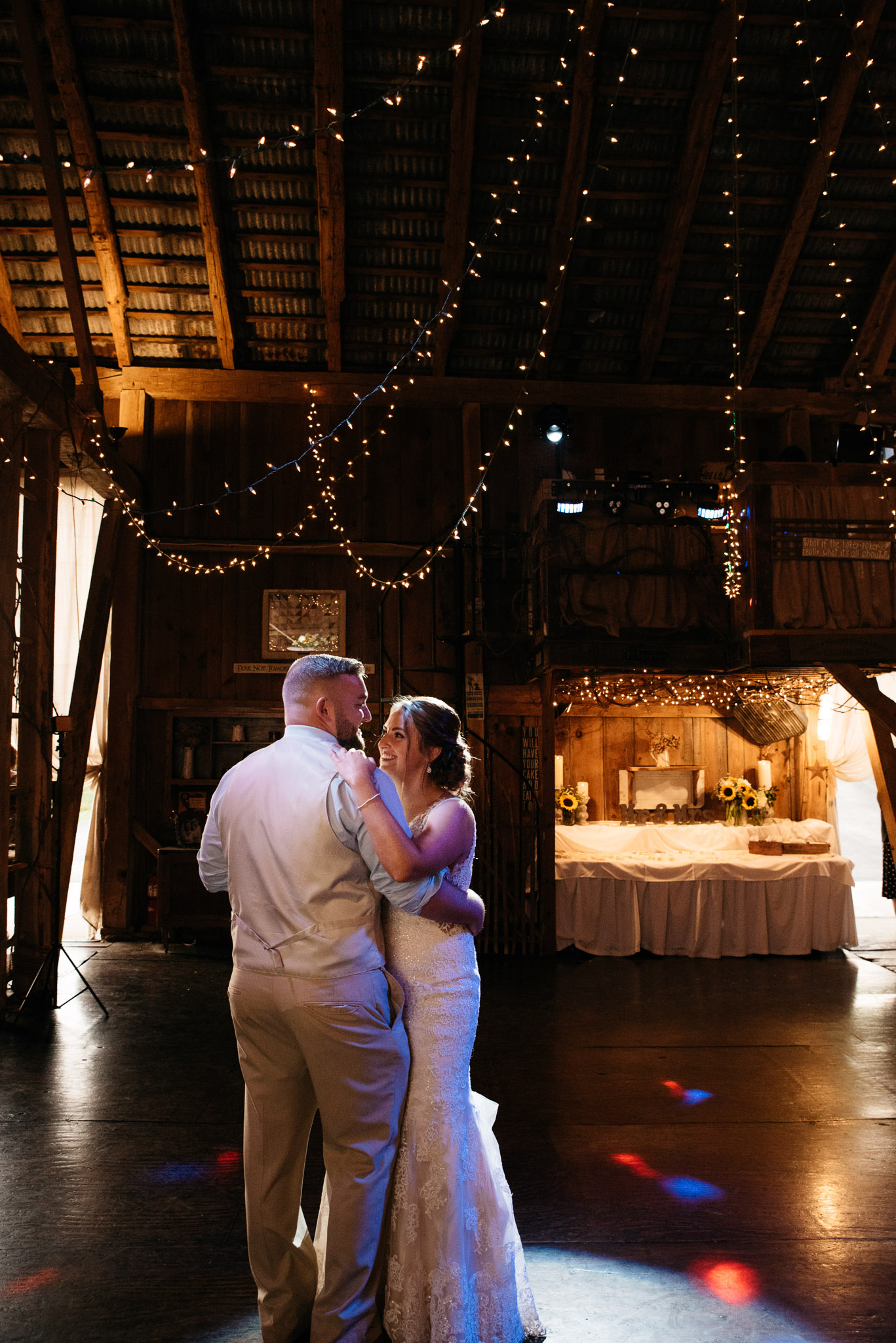 first dance, Pittsburgh Wedding Photographer, Hayloft of PA Mariah Fisher-0245.jpg