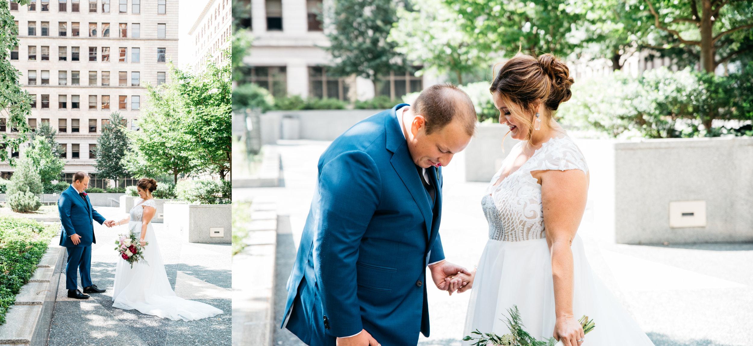 First Look, Pittsburgh Wedding Photographer, Mariah Fisher.jpg