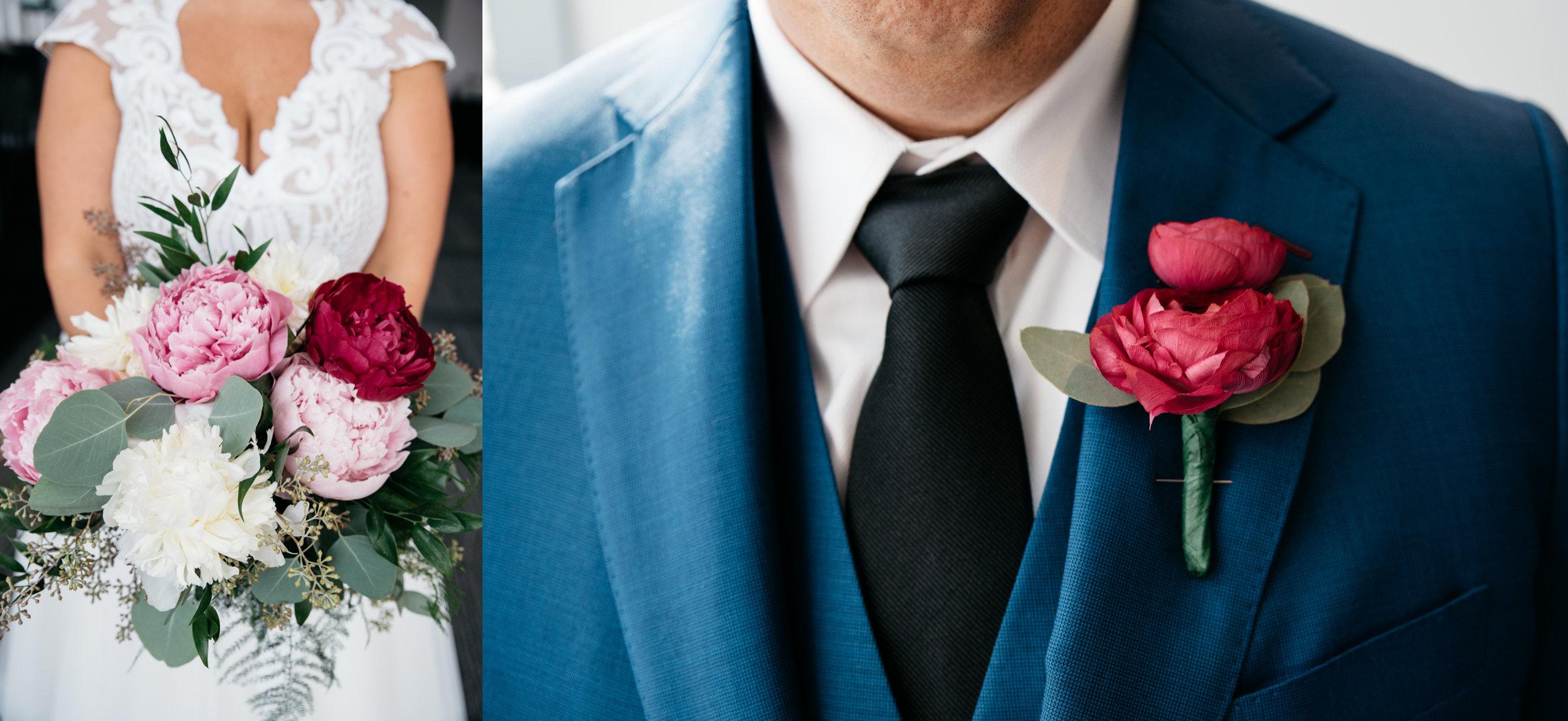 flowers, carnegie science center wedding pittsburgh photography.jpg