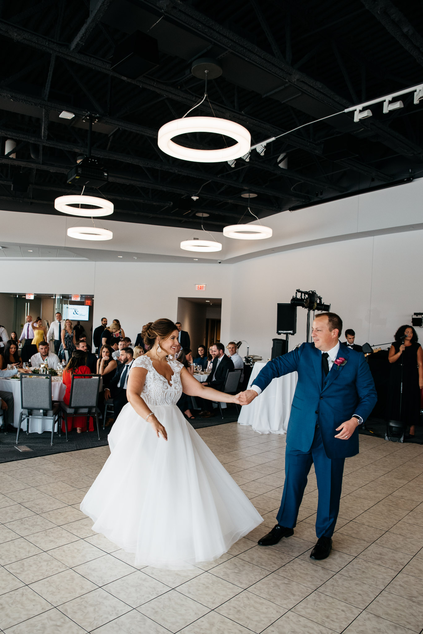 Pointview Hall, first dance Carnegie Science Center Wedding, Pointview Hall, Pittsburgh wedding Mariah Fisher-1420.jpg