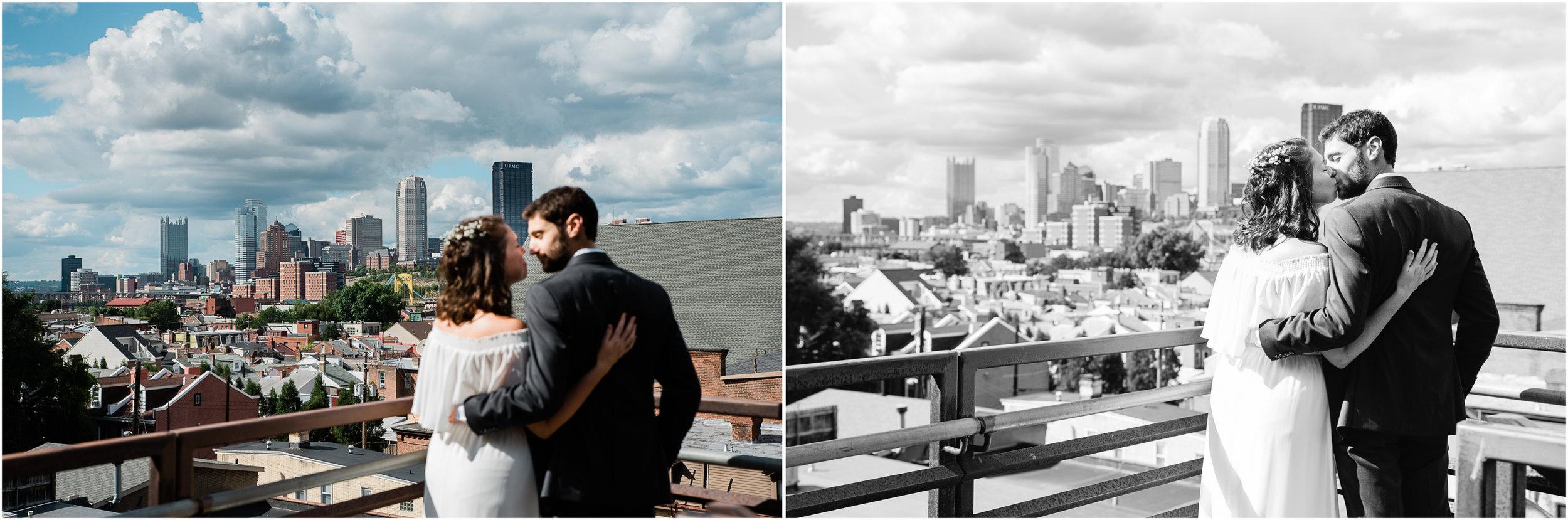 Pittsburgh skyline, Pittsburgh wedding photographer, wedding photography.jpg