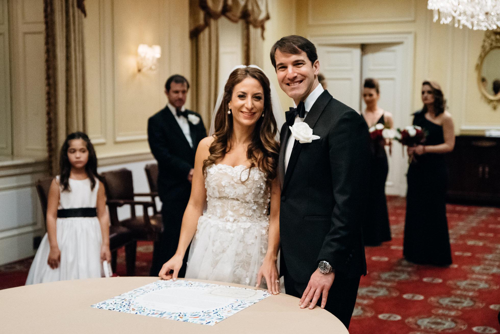ketuba signing, jewish wedding Pittsburgh PA wedding photographer, duquesne club wedding-1.jpg