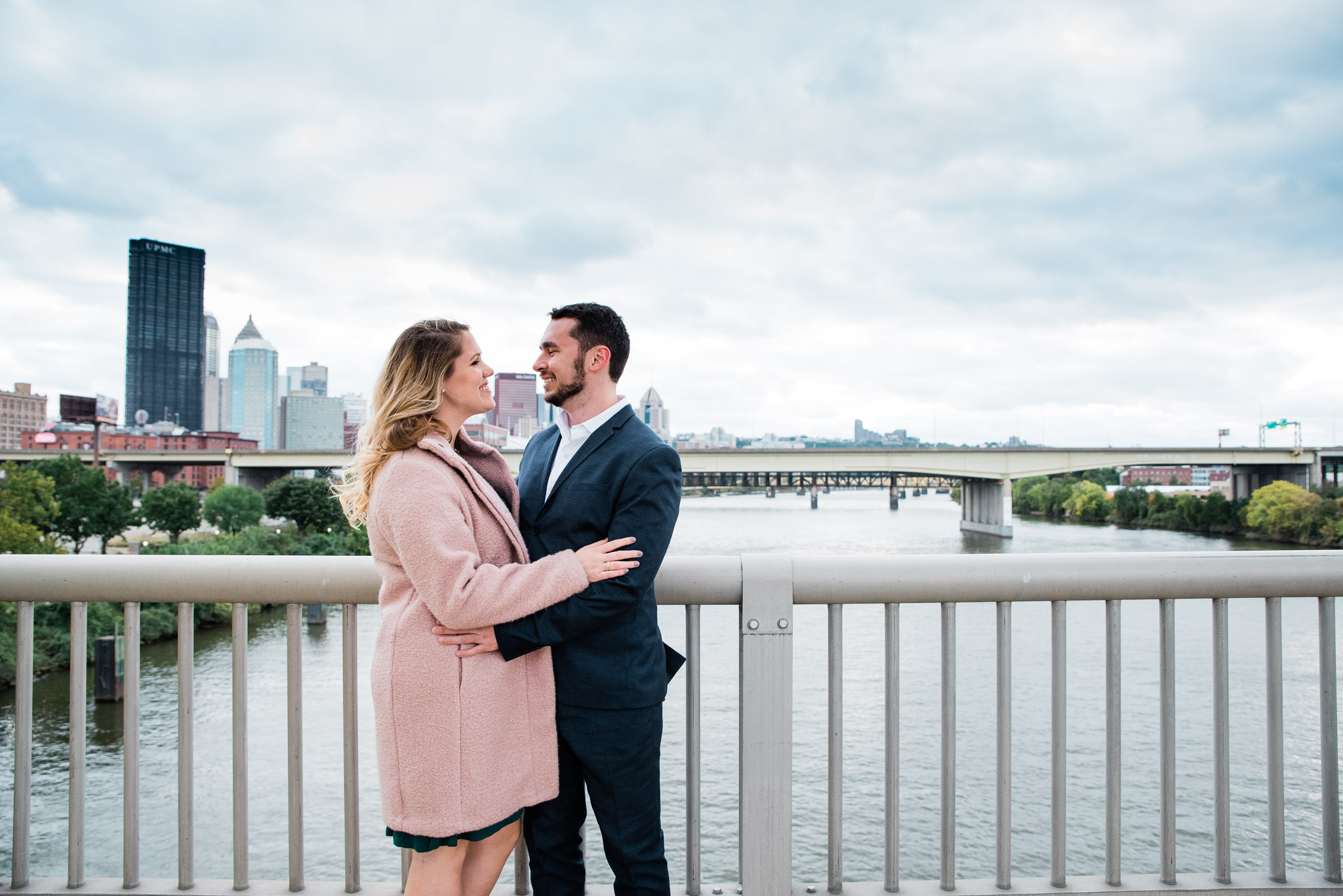 Strip District Pittsburgh Engagement Session Mariah
