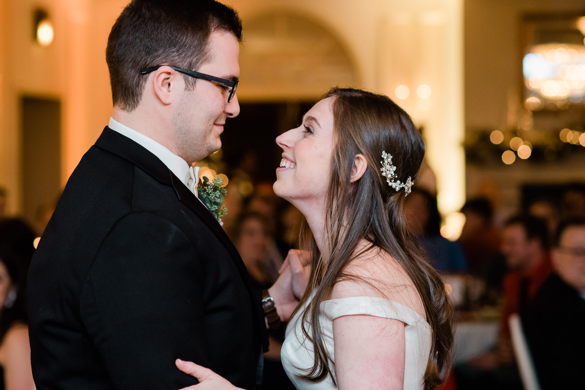 first dance Sunnehanna Country Club Wedding  photographer, Johnstown PA Mariah Fisher-41.jpg