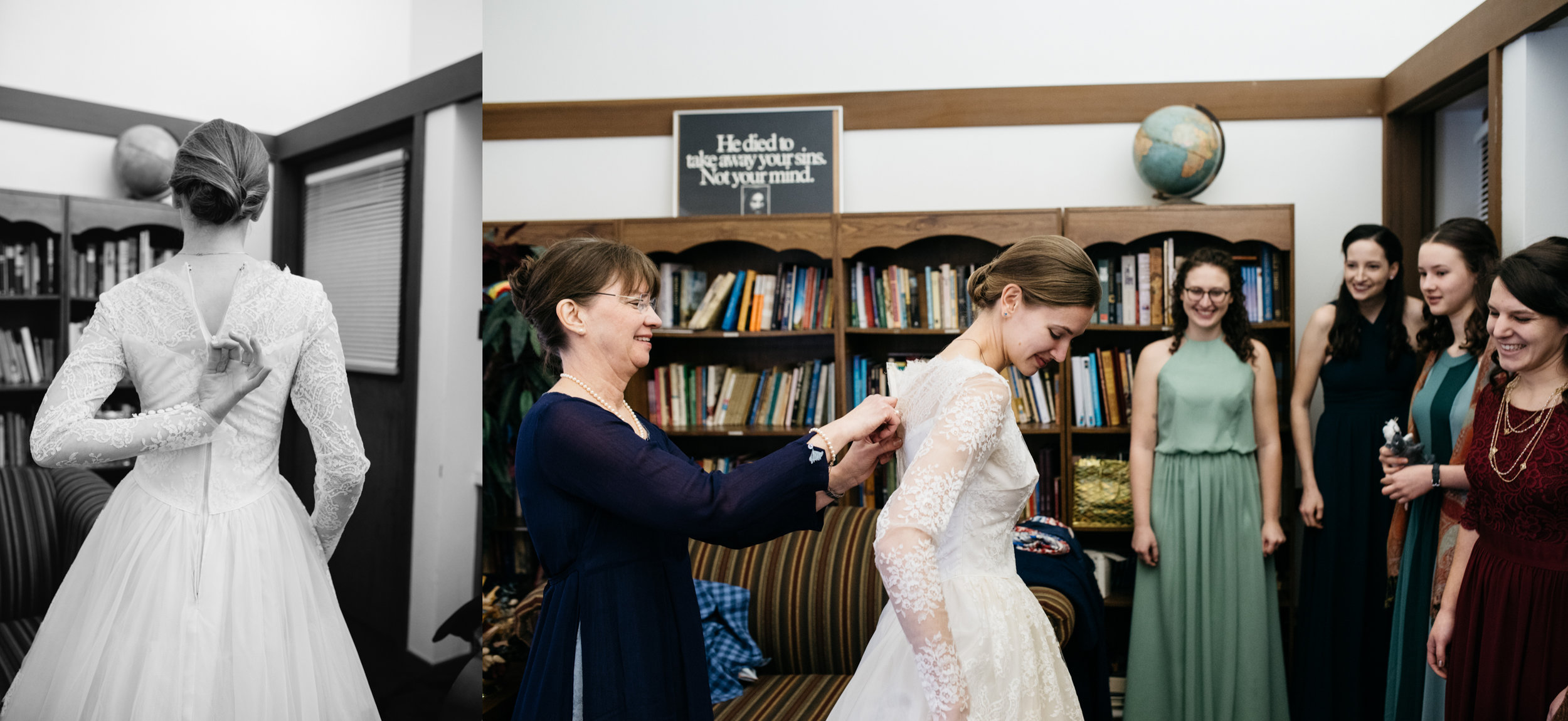 Bride Getting Ready St. Michaels Church Ligonier Valley Mariah Fisher.jpg