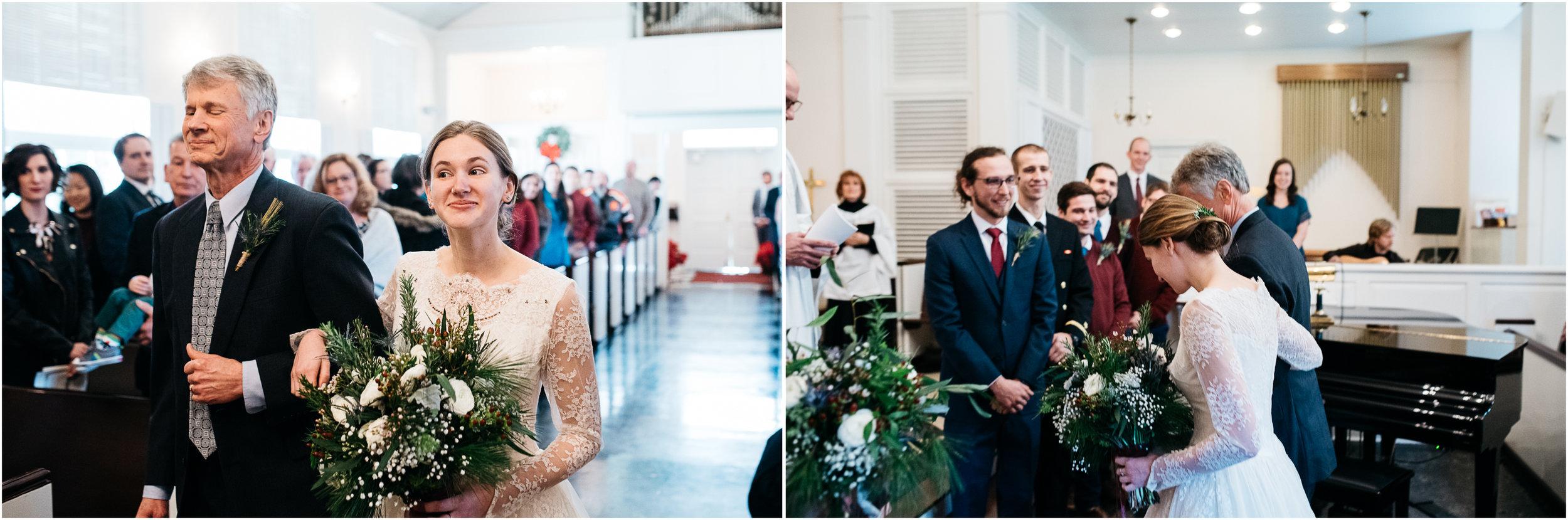 St. Michaels wedding ceremony Ligonier wedding photographer.jpg