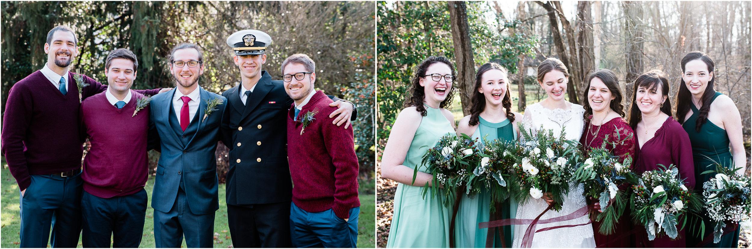 bridal party, linn run, ligonier wedding photographer, mariah fisher.jpg