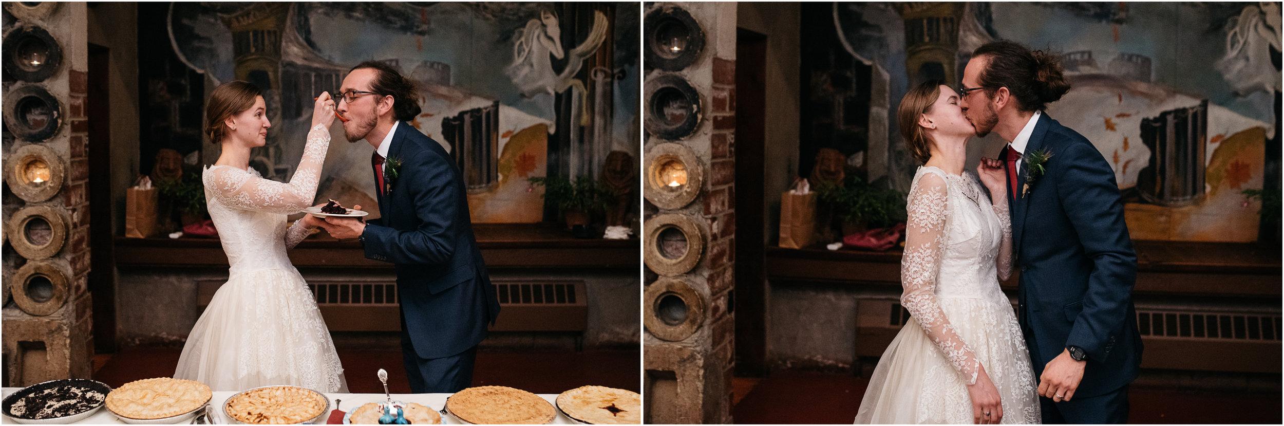 cake cutting Green Gables wedding photographer, Mariah Fisher Photography.jpg