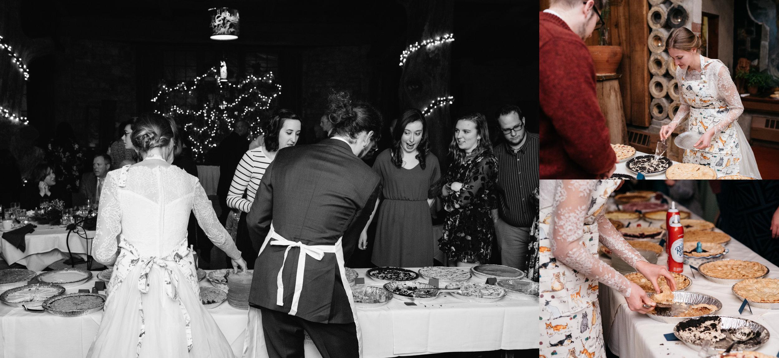 Pie Serving Green Gables Wedding Photographer, Mariah Fisher.jpg