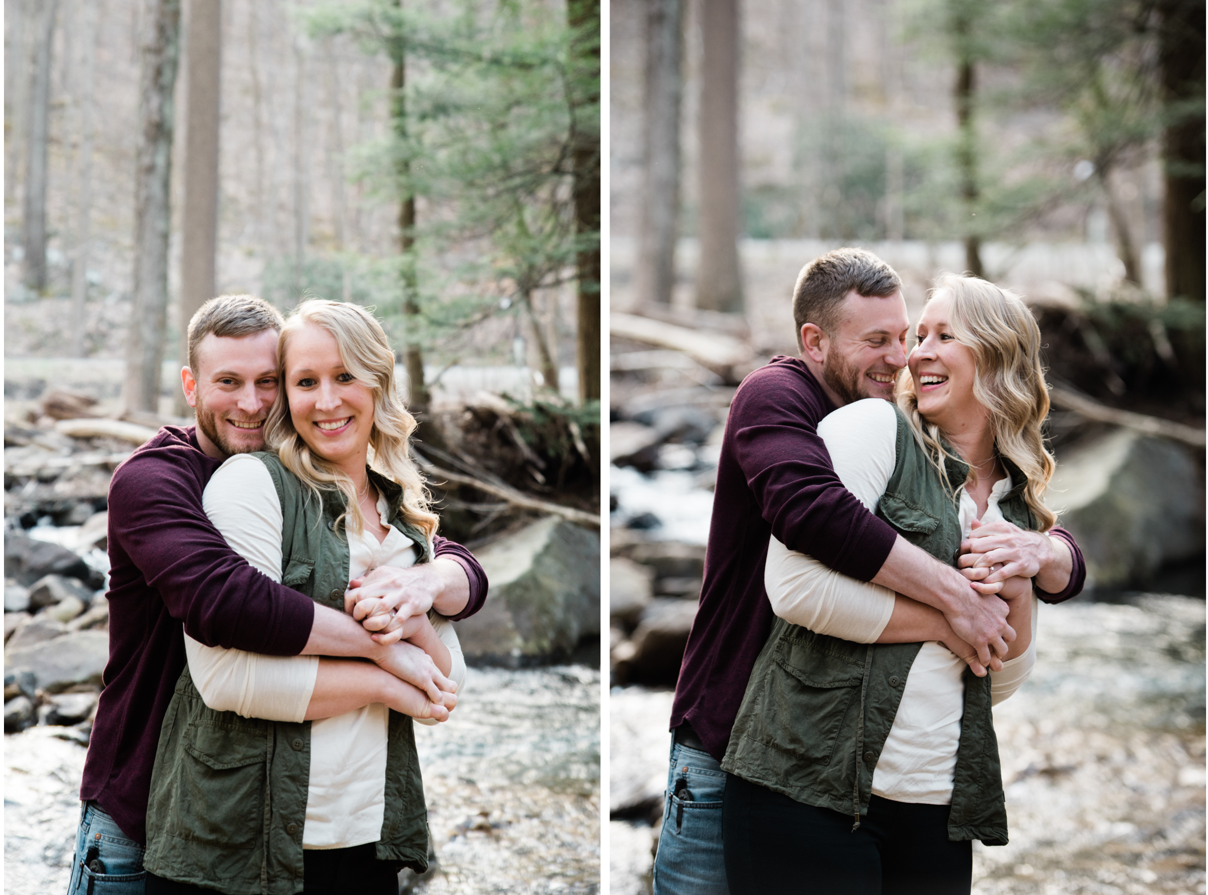Ligonier Engagement Session, Linn Run State Park, Mariah Fisher Photography, Ligonier PA.jpg