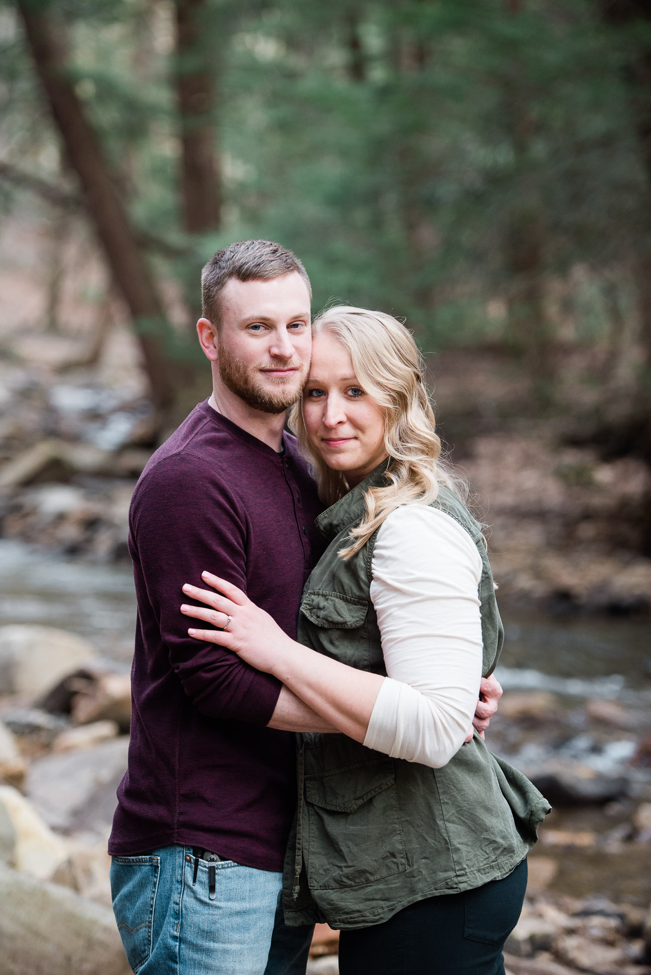 Pittsburgh PA Wedding Photographer, Linn Run engagement Session, Ligonier PA Mariah Fisher Photography (1 of 3).jpg