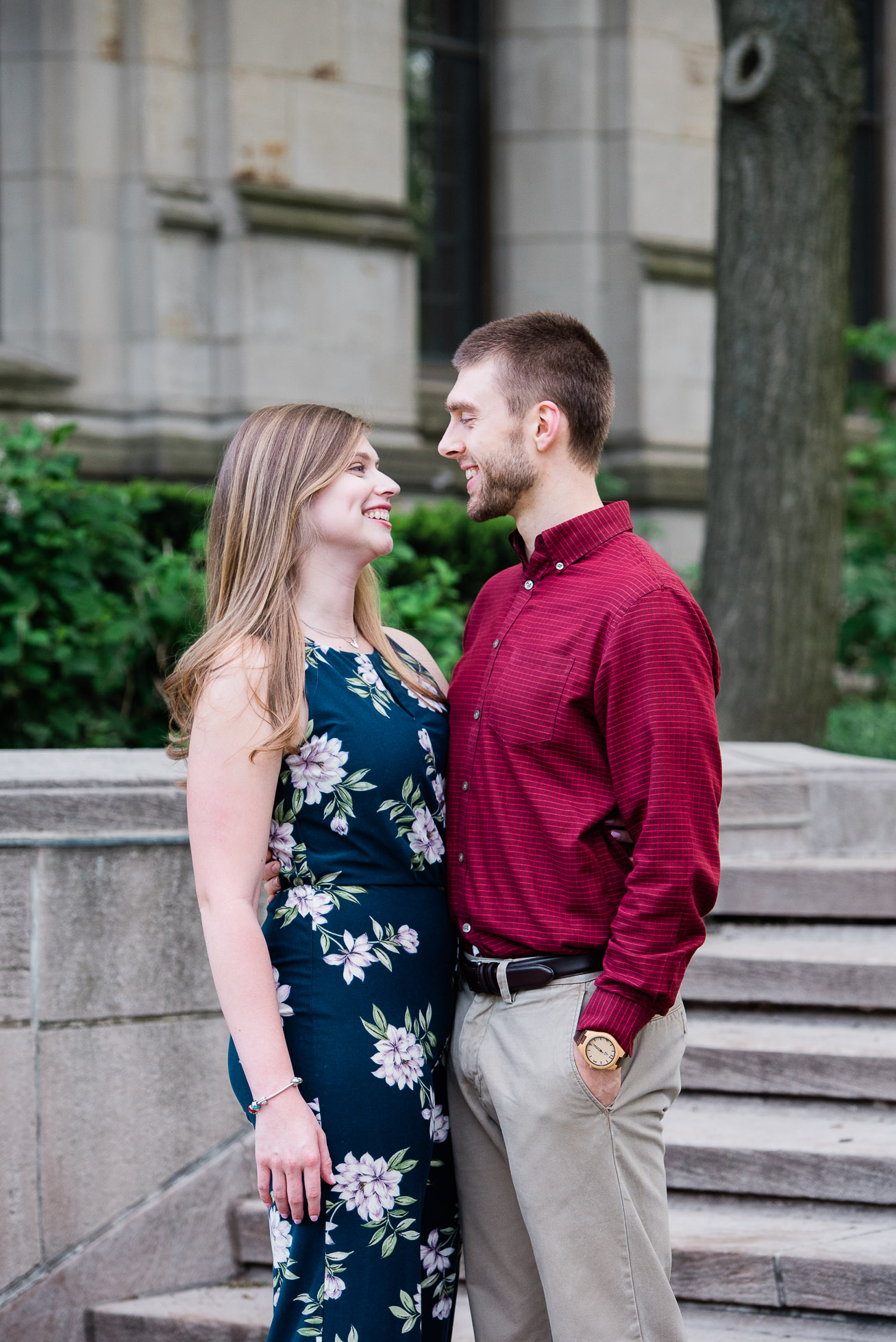 Pittsburgh Cathedral of Learning Engagement session, Wedding Photographer, Mariah Fisher-2.jpg