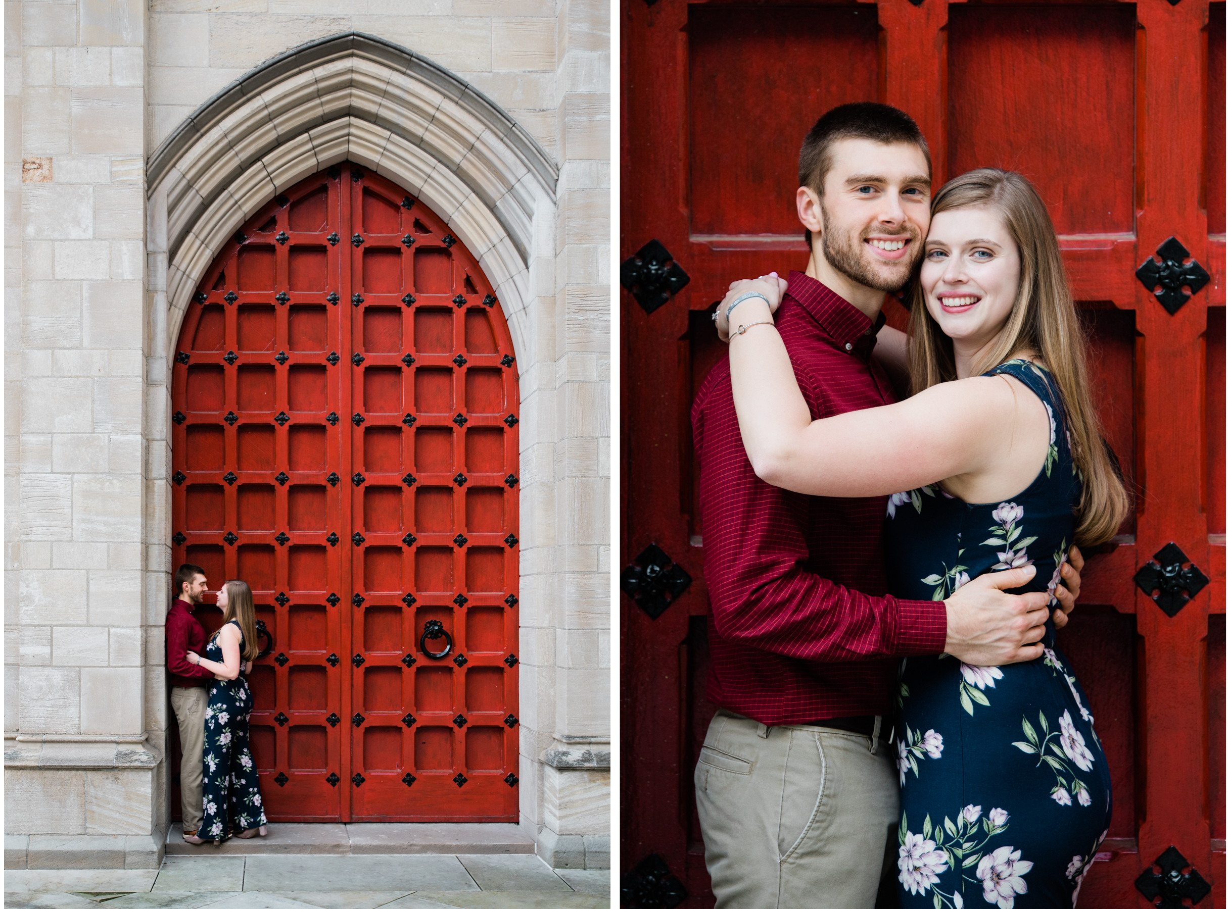 Pittsburgh Engagement Photographer, Engagement session, Cathedral of Learning.jpg