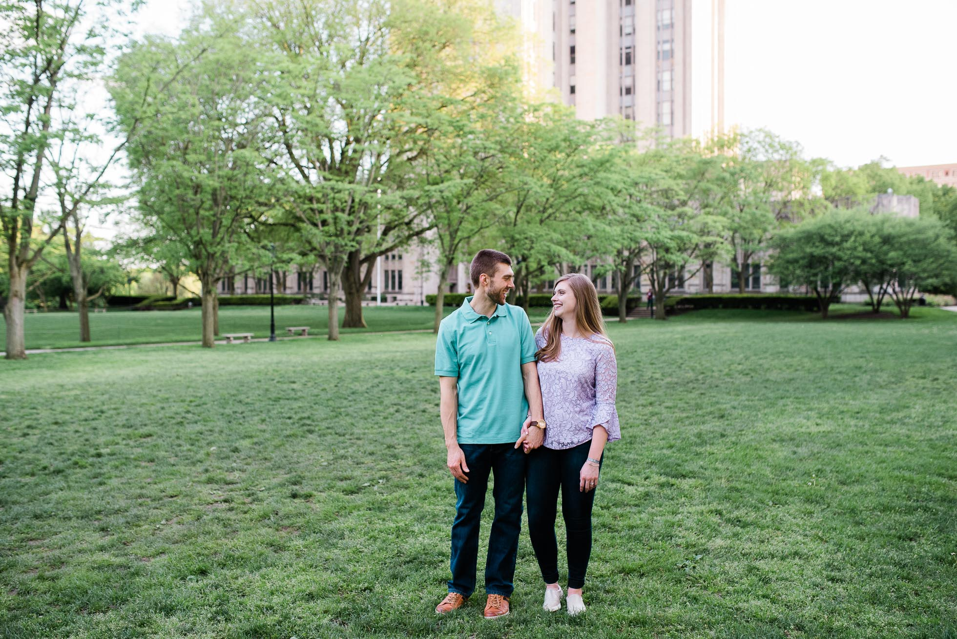 Pittsburgh Cathedral of Learning Engagement session, Wedding Photographer, Mariah Fisher-5974.jpg