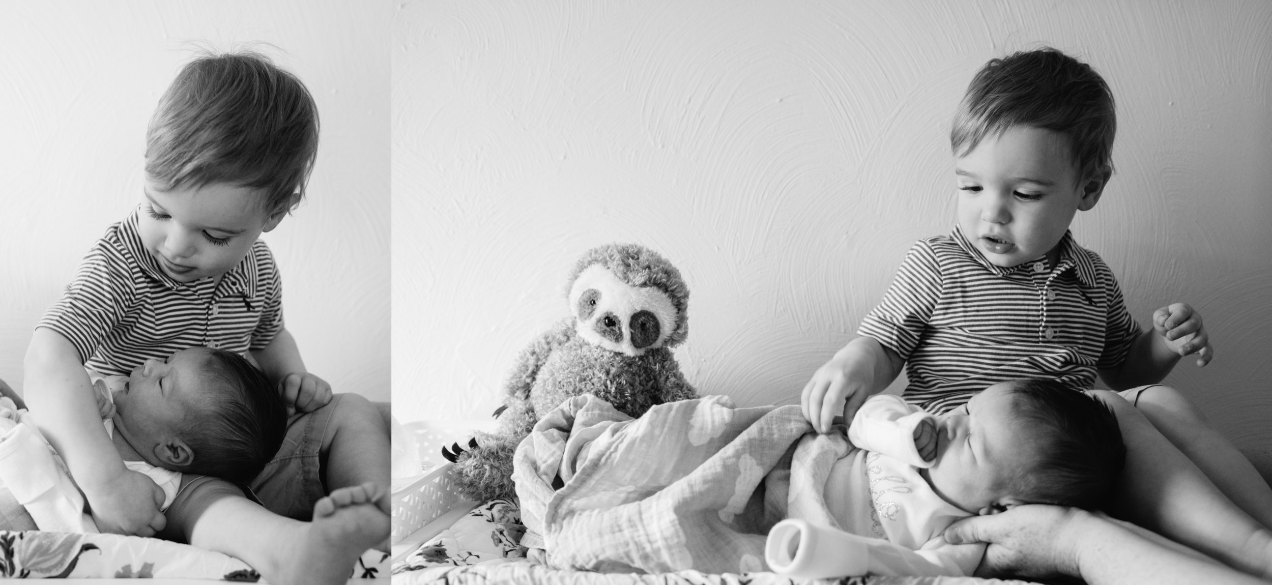 Newborn with Brother, lifestyle session Pittsburgh PA, Mariah Fisher Photography.jpg