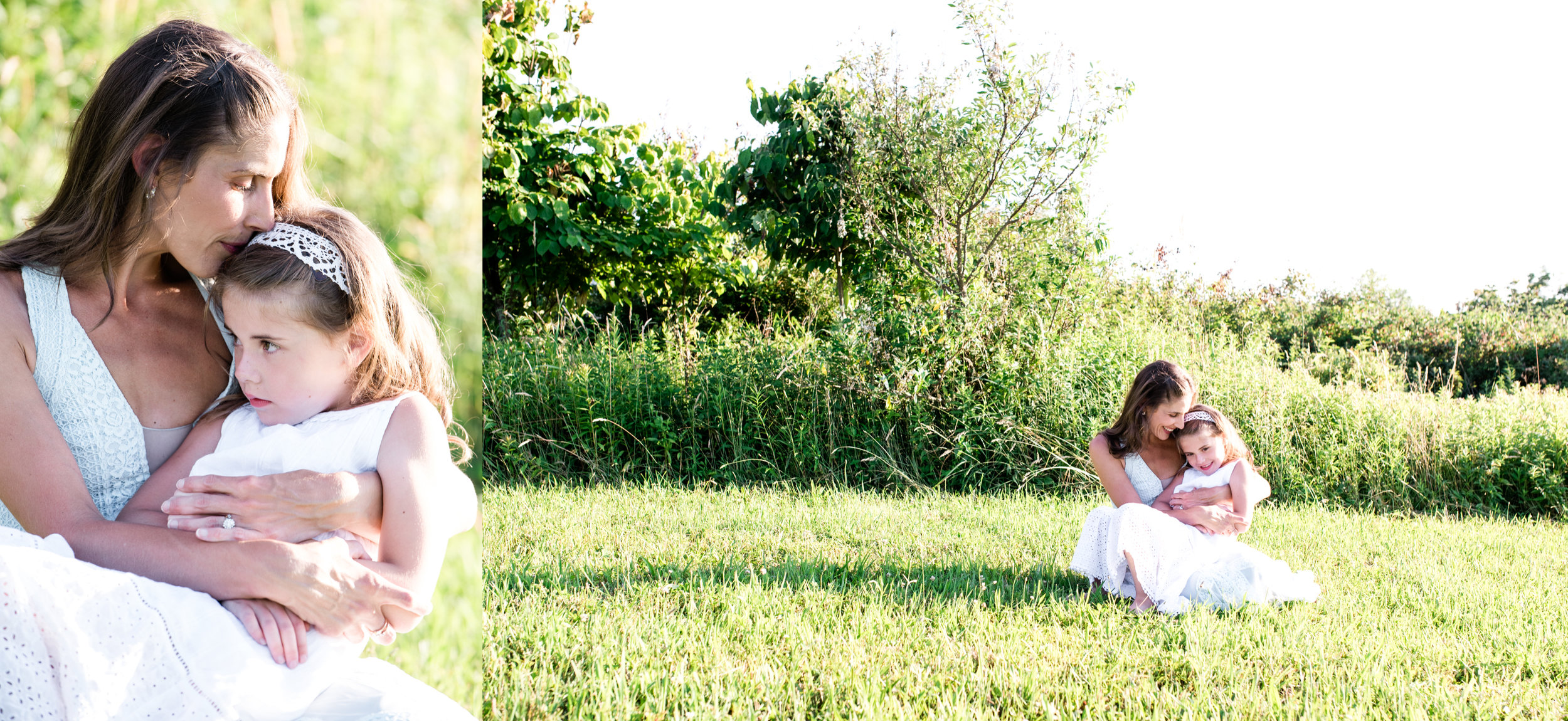 Mother Daughter sunset portraits, Ligonier PA photographer.jpg