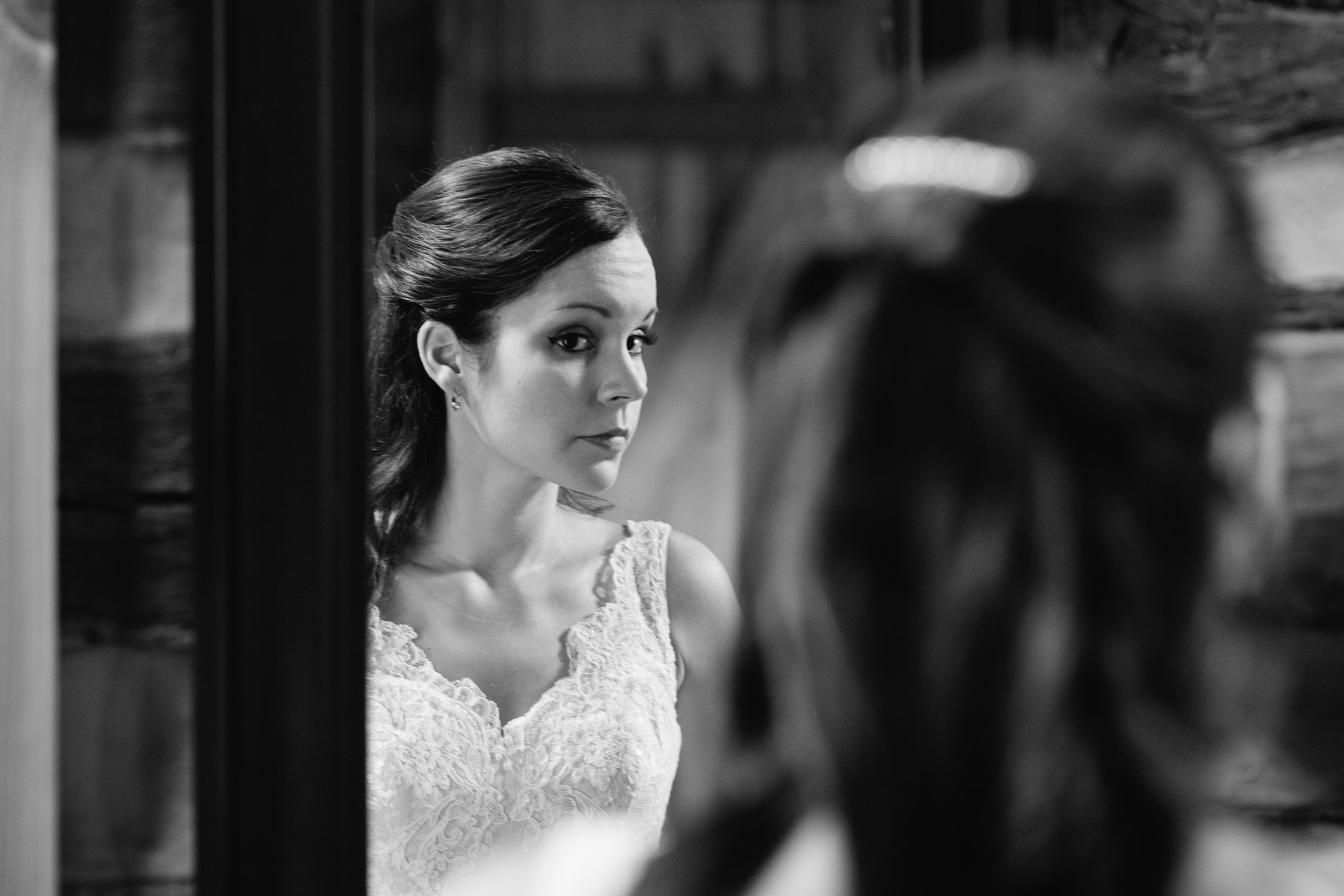 Bride getting ready, The Event Barn at Highland Farms, Somerset PA-9356.jpg