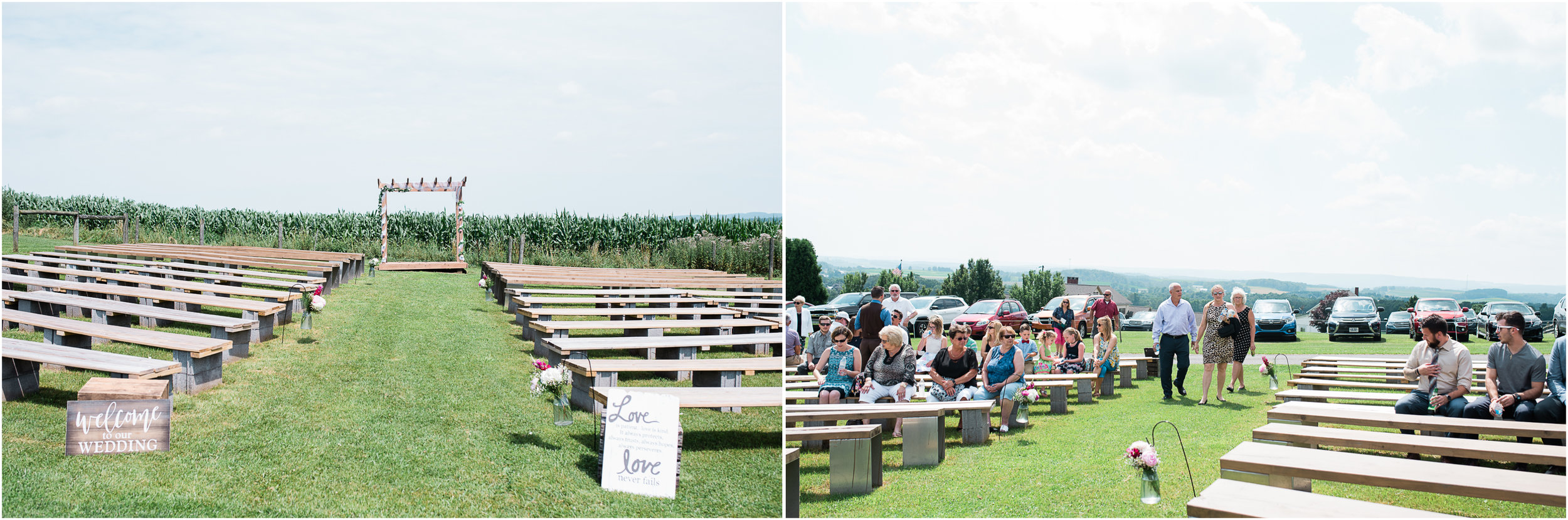 ceremony site, Pittsburgh PA barn wedding.jpg
