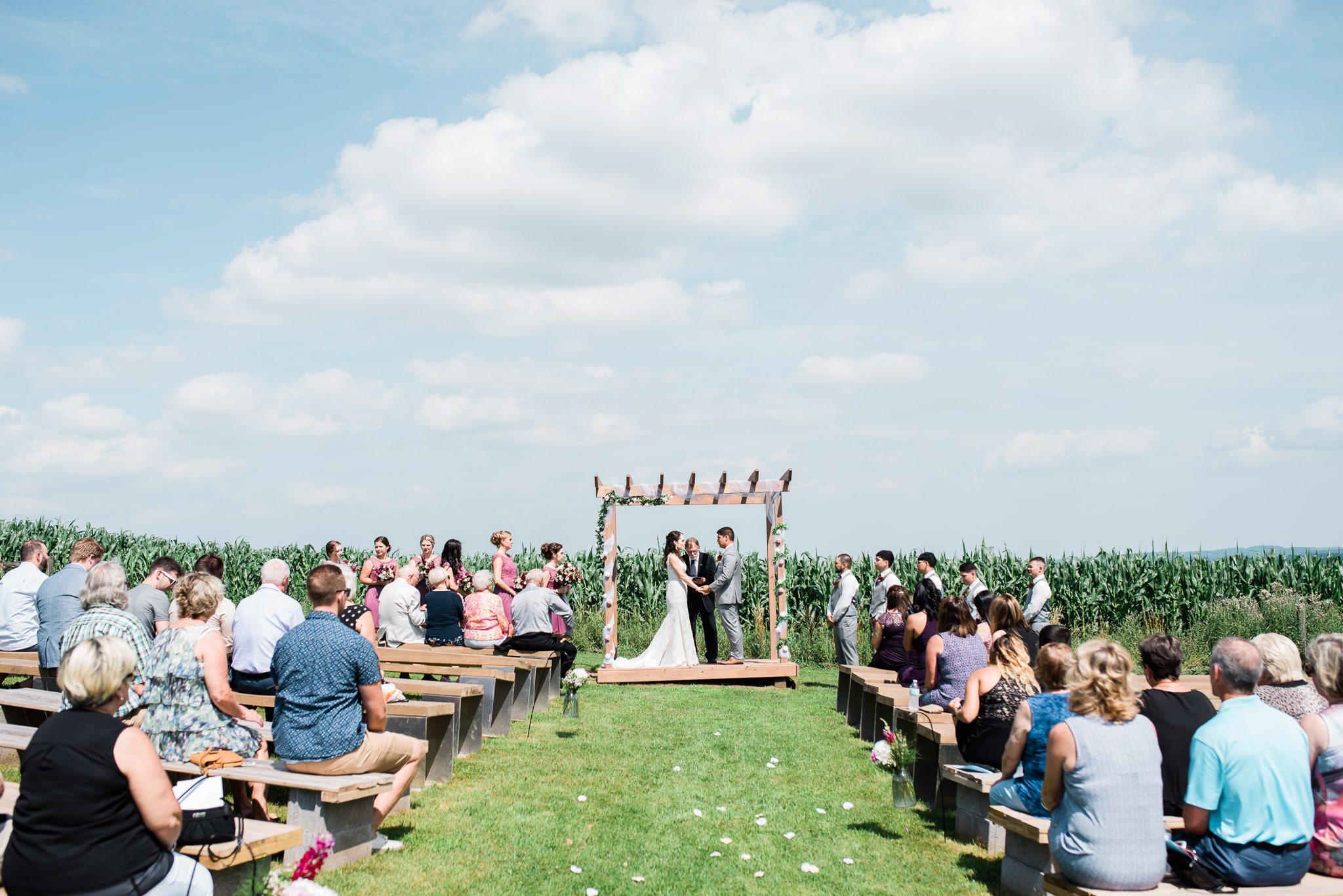 Outdoor Ceremony, Pittsburgh Wedding Photographer, The Event Barn at Highland Farms, Somerset PA-3523.jpg