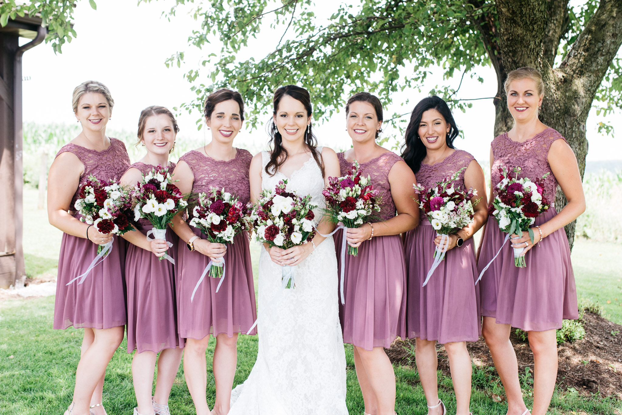 Bridal Party, Pittsburgh Wedding Photographer, The Event Barn at Highland Farms, Somerset PA-3365.jpg
