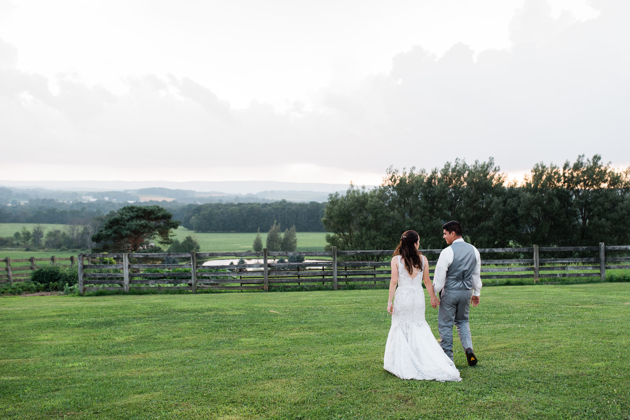 Sunset Wedding Portraits, Pittsburgh Wedding Photographer, The Event Barn at Highland Farms, Somerset PA-4060.jpg