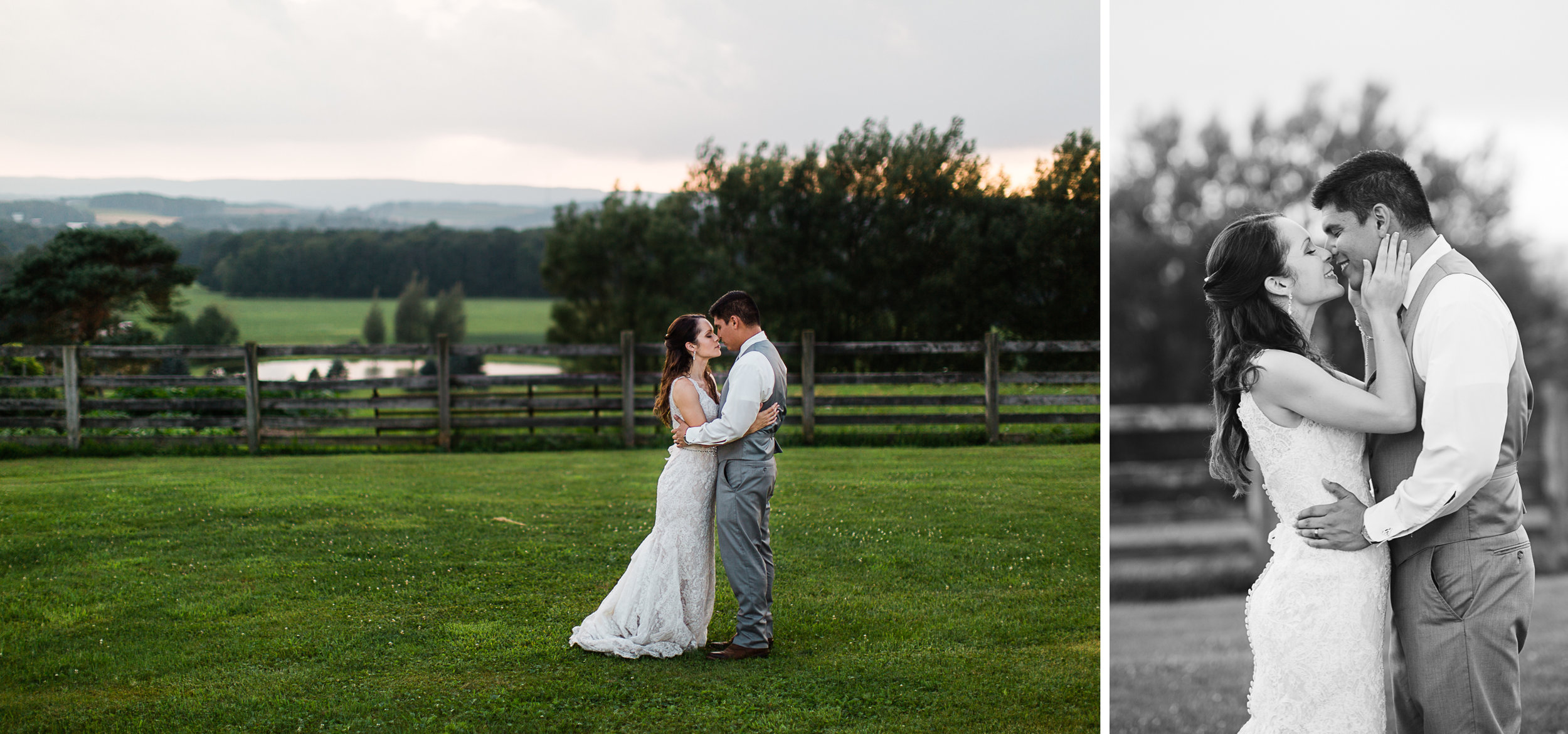 Sunset Bridal Portraits Pittsburgh wedding photographer.jpg