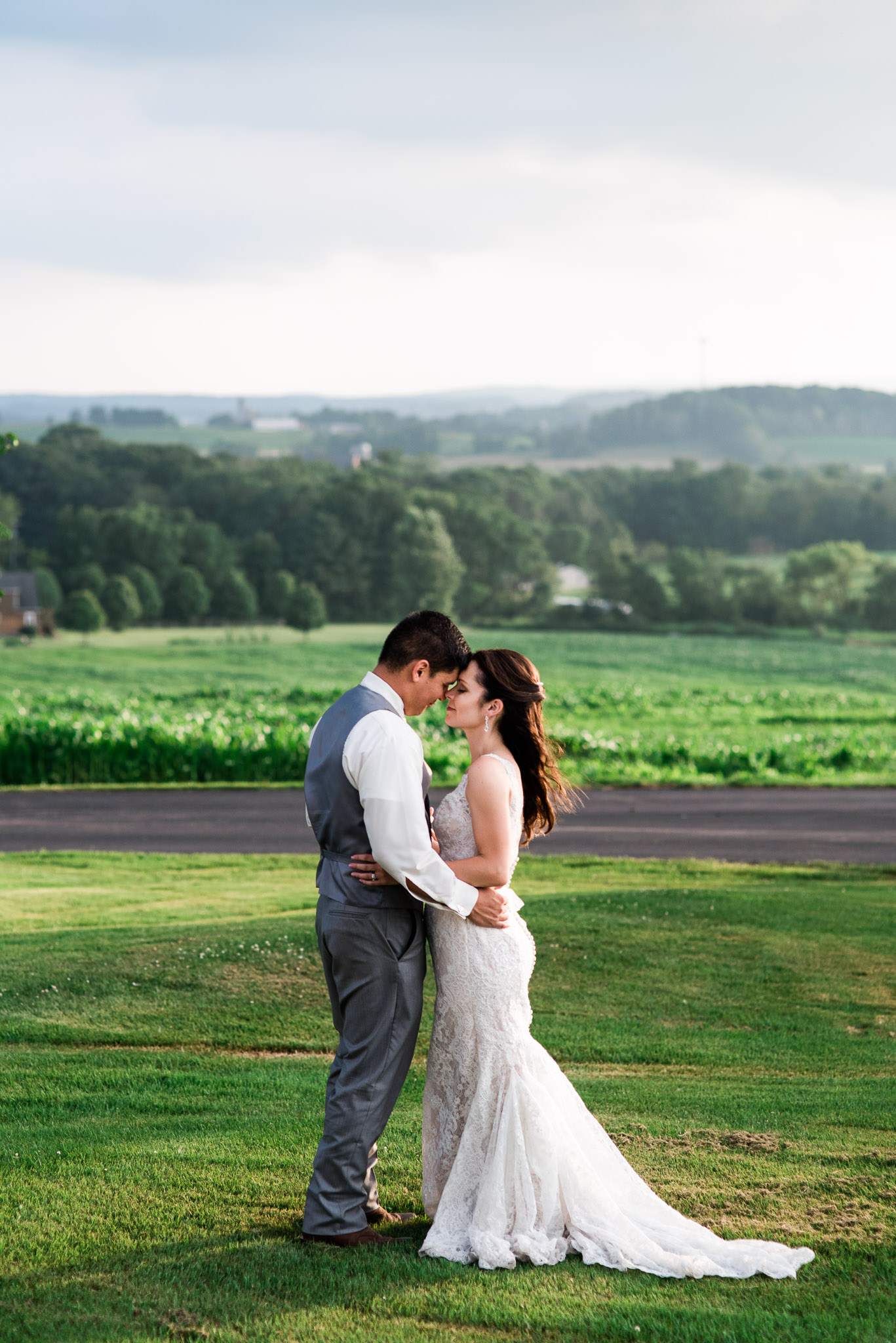 Sunset Wedding Portraits, Pittsburgh Wedding Photographer, The Event Barn at Highland Farms, Somerset PA-0158.jpg