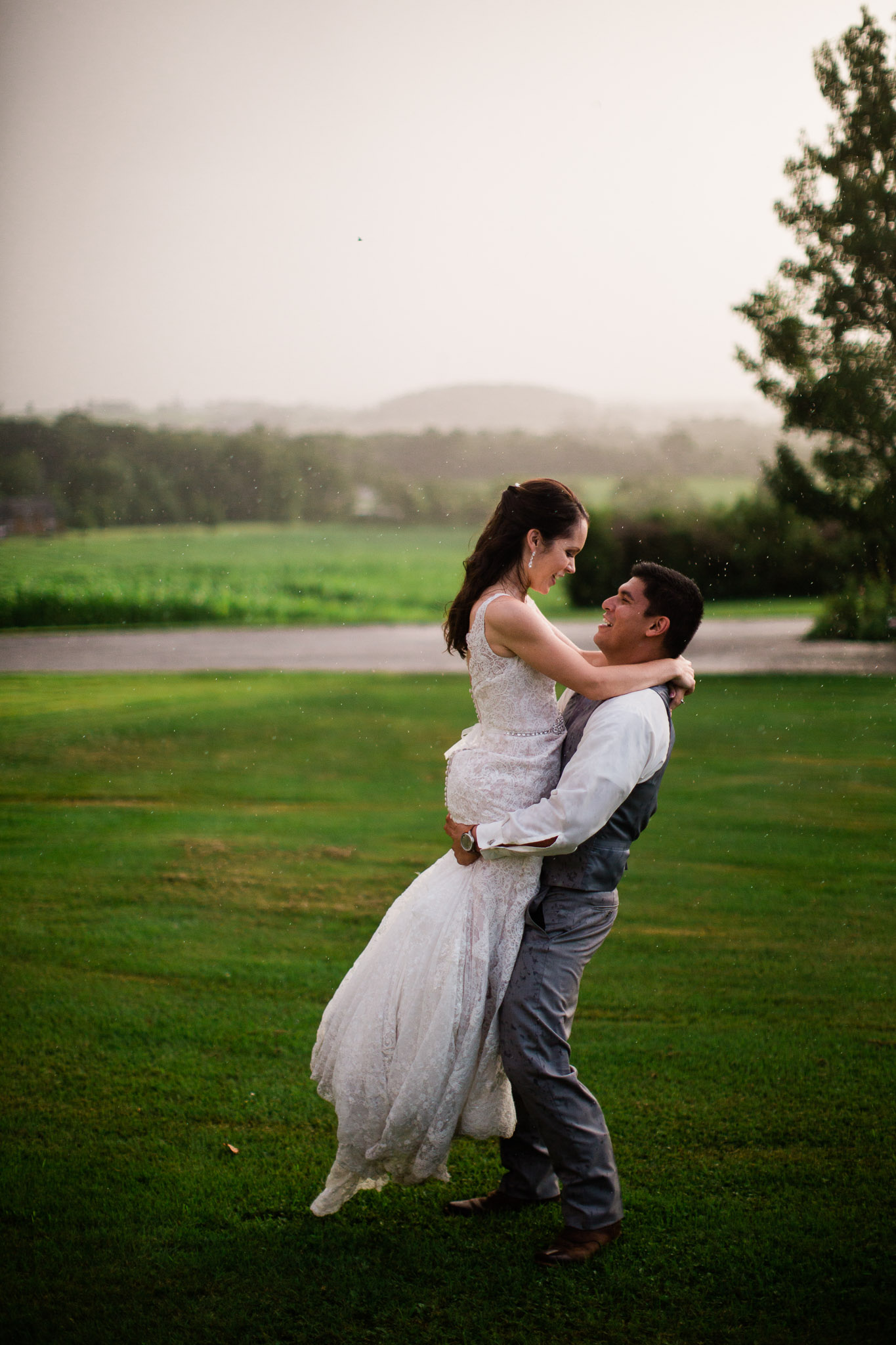 Sunset Wedding Portraits, Pittsburgh Wedding Photographer, The Event Barn at Highland Farms, Somerset PA-5579.jpg