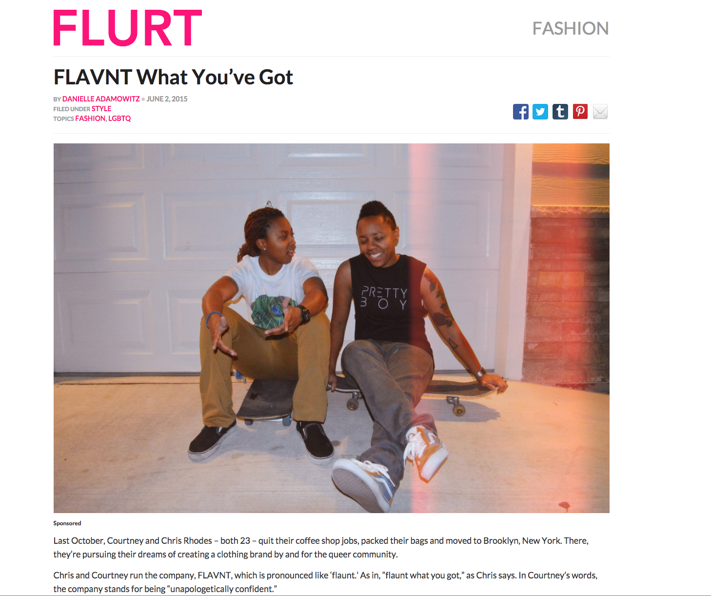 Flurt Magazine