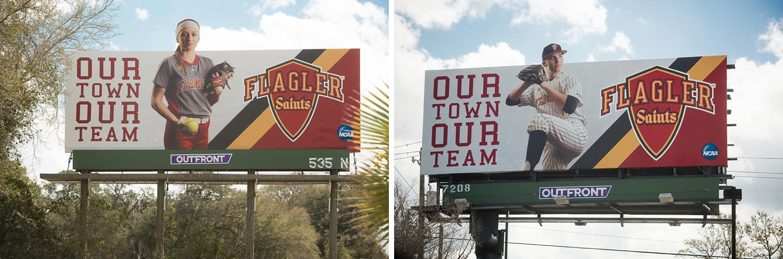 Flagler Athletics Billboard Marketing