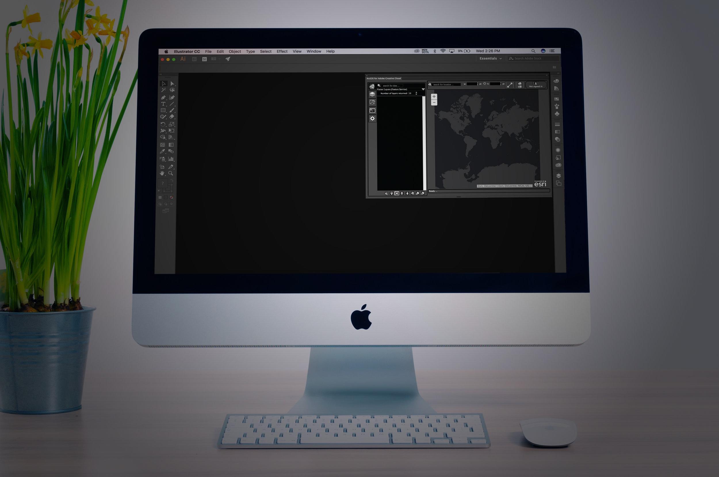 ArcGIS Maps for Adobe Creative Cloud - UX DESIGN