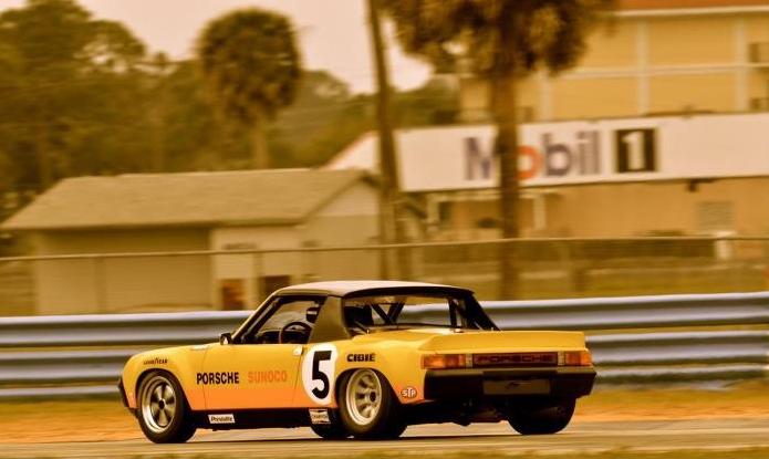 Bob Bailey - 1971Daytona 24-Hour Race, Porsche 914-6 GT - 1st in Class, 7th Overall